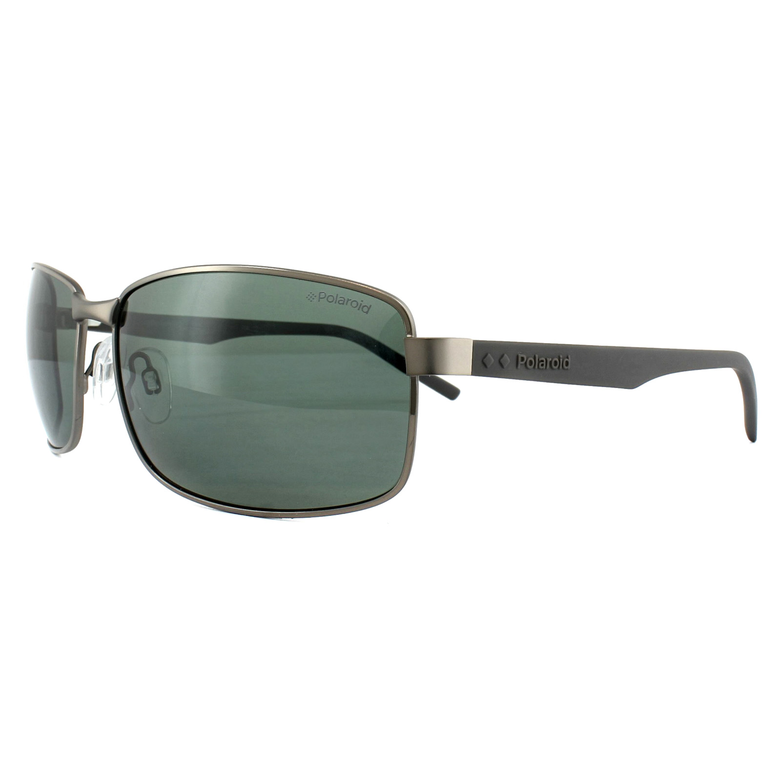 Sentinel Polaroid Sunglasses PLD 2045 S 6LB UC Ruthenium Green Polarized 353ce05684c2