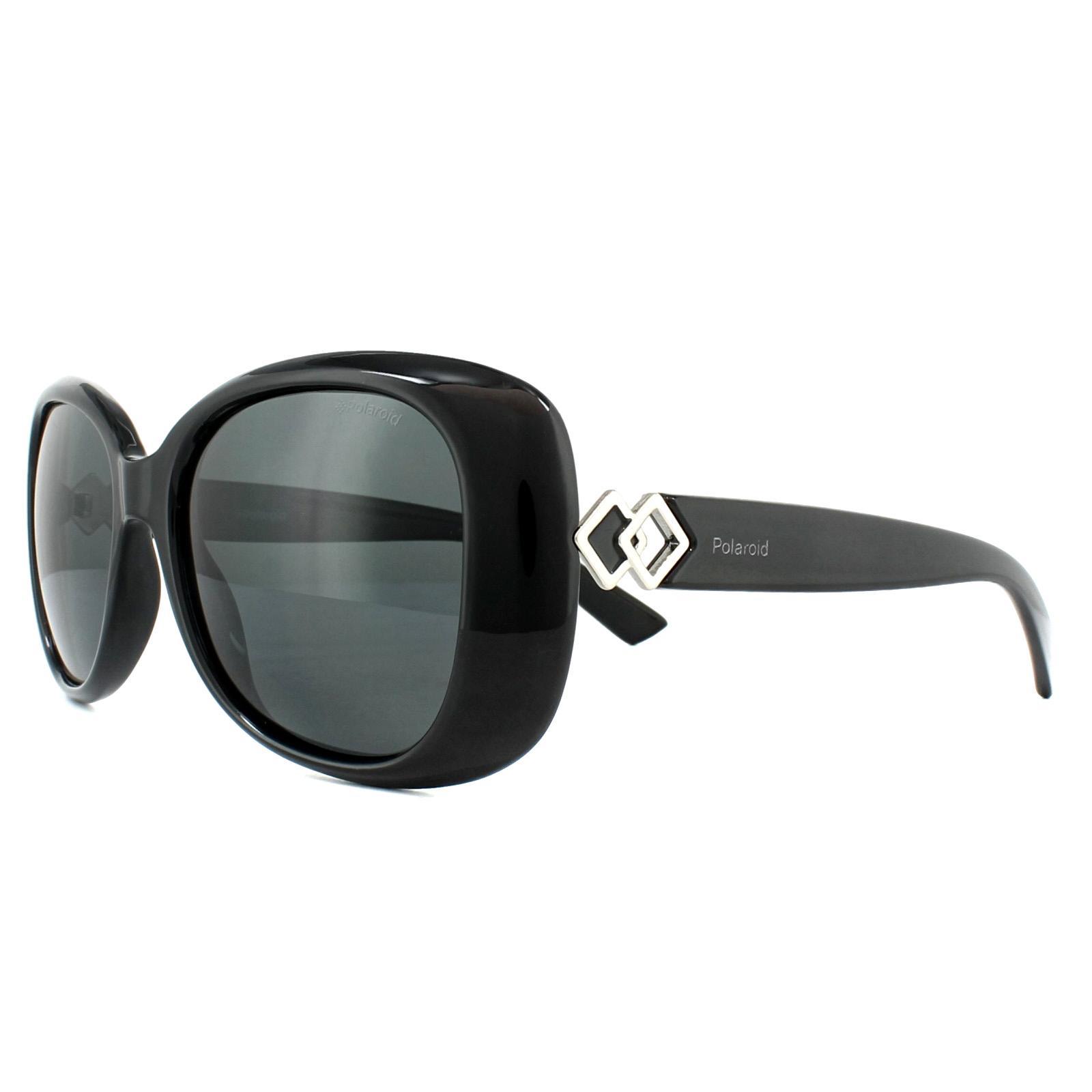 NEW Polaroid PLD6080GCS-08AM9 PLD6080GCS-08AM9 Black Grey Sunglasses