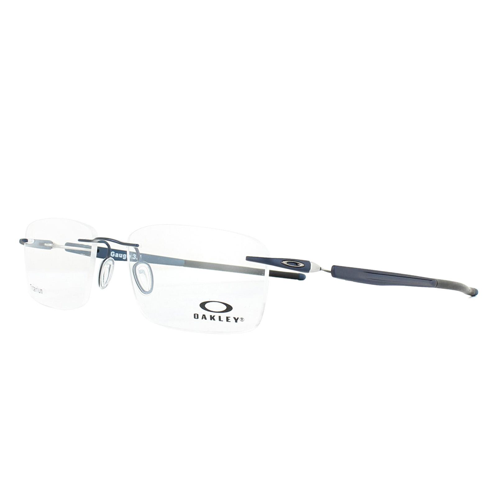 f01b6972d0 Sentinel Oakley Glasses Frames Gauge 3.1 OX5126-03 Matt Midnight w Blue 52mm