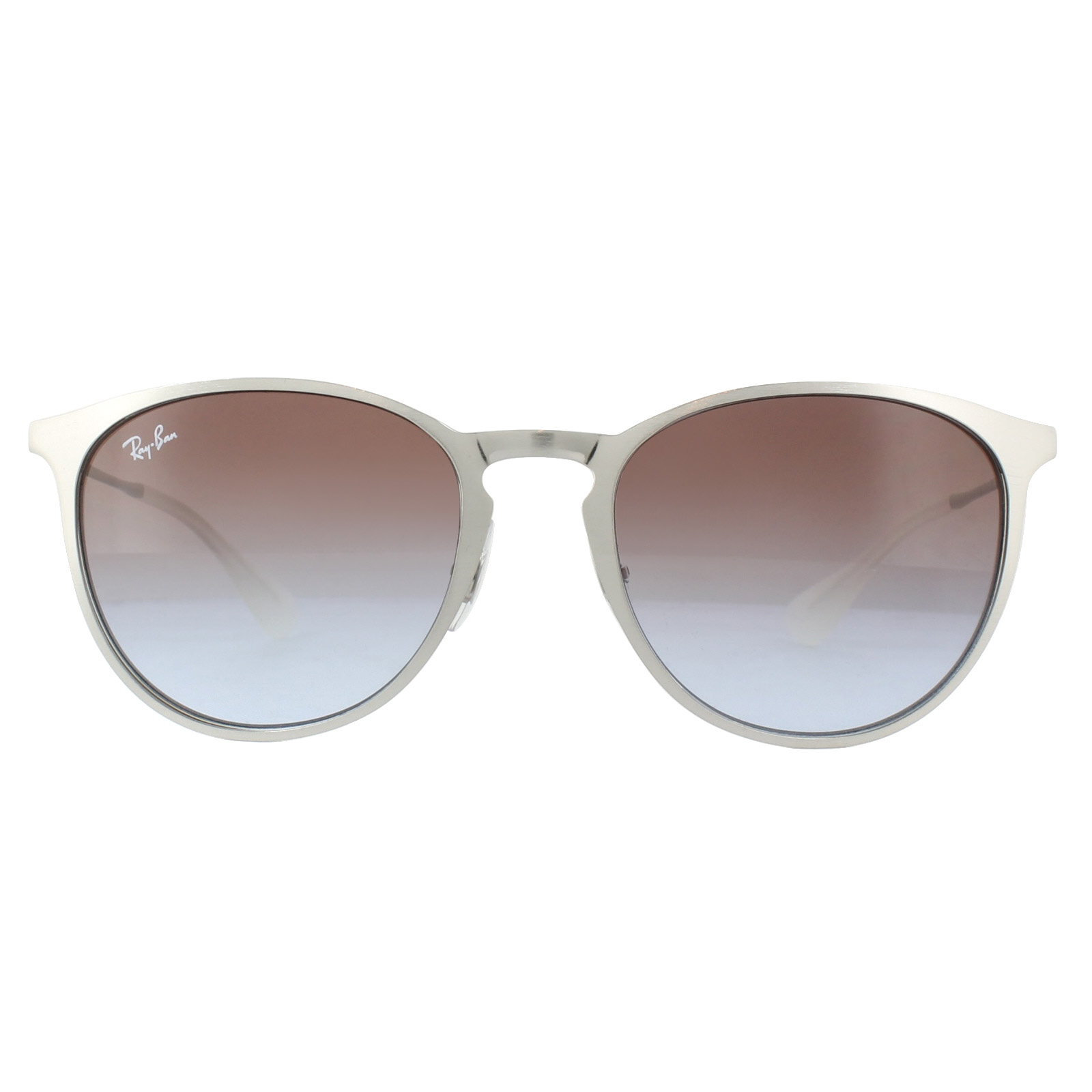84bbae3560 Sentinel Ray-Ban Sunglasses Erika Metal 3539 9079I8 Silver Bordeuax Violet  Gradient