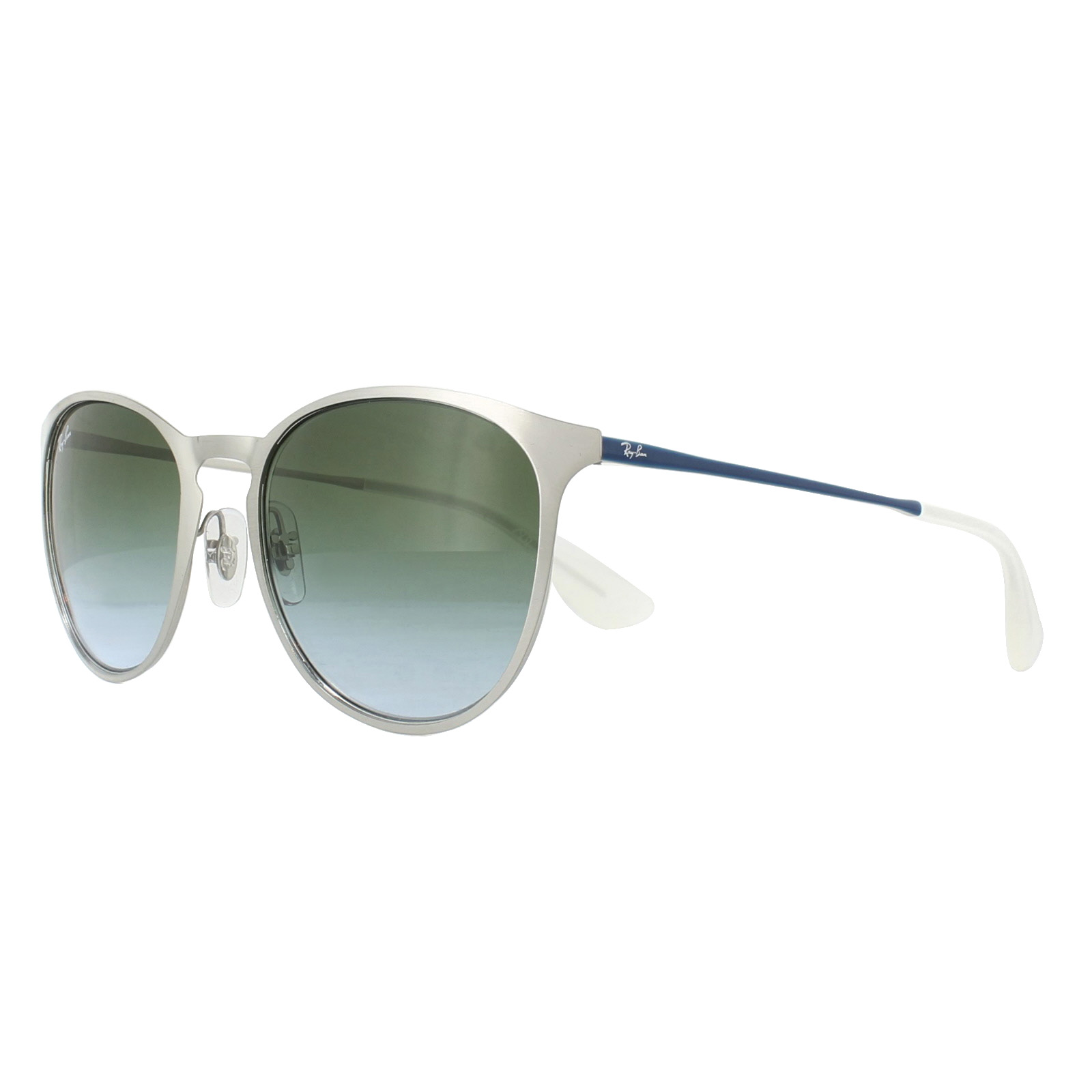 b6fd2735433 Sentinel Ray-Ban Sunglasses Erika Metal 3539 9080I7 Silver Blue Green  Gradient