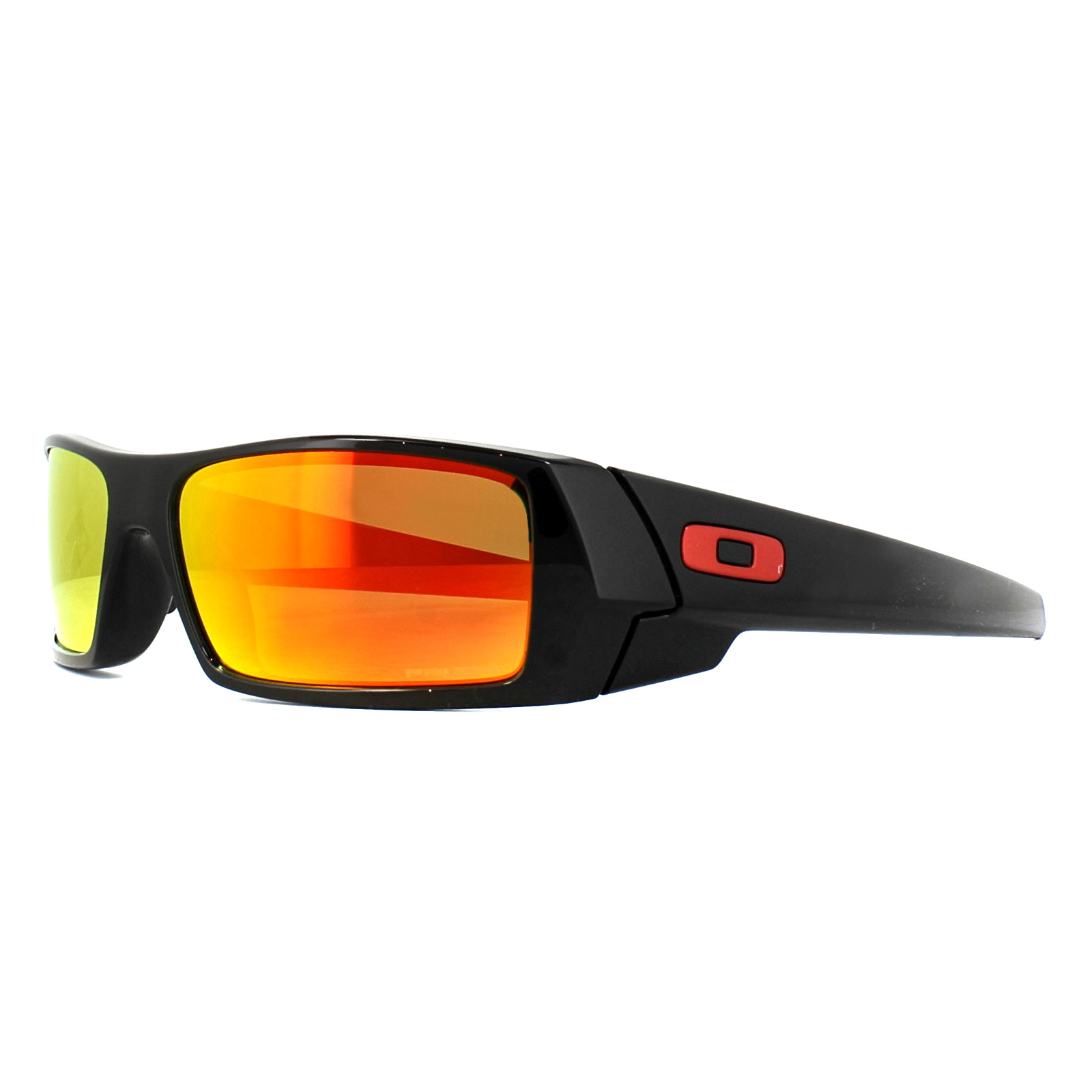 dfc67782540 Sentinel Oakley Sunglasses Gascan OO9014-44 Polished Black Prizm Ruby.  Sentinel Thumbnail 2