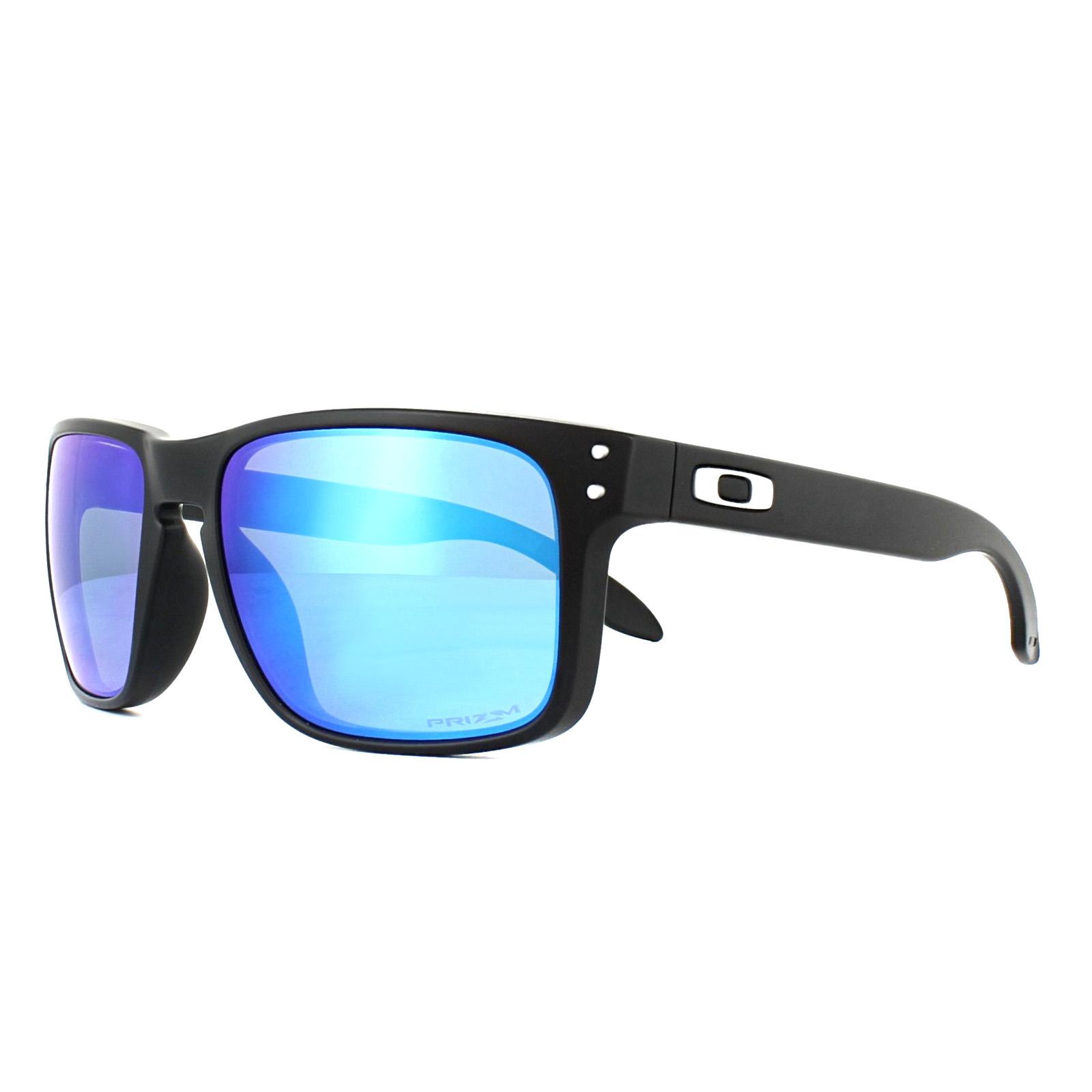 2404c0aad0 Sentinel Oakley Sunglasses Holbrook OO9102-F0 Matt Black Prizm Sapphire  Polarized