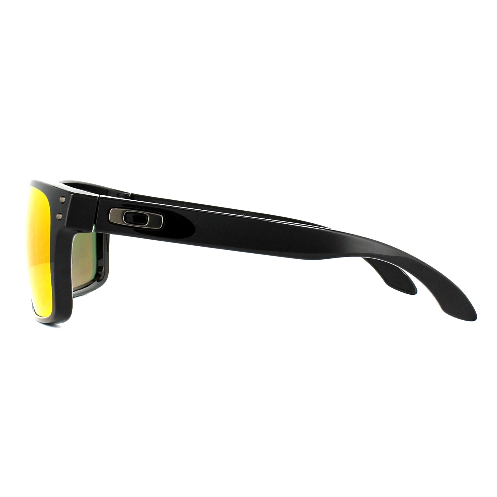 f91fd44488 Sentinel Oakley Sunglasses Holbrook OO9102-F1 Polished Black Prizm Ruby  Polarized