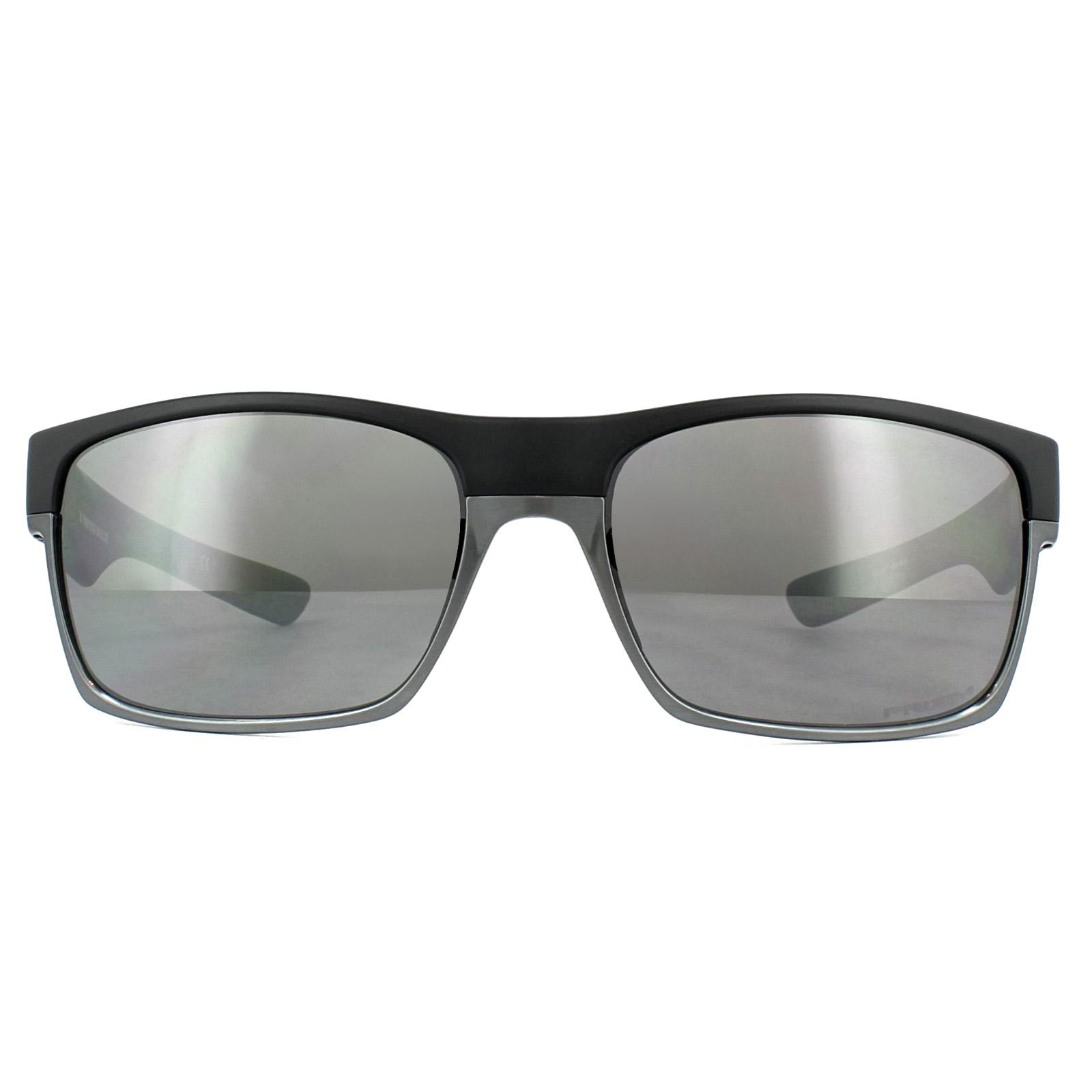 e777e6c4bd1 Sentinel Oakley Sunglasses TwoFace OO9189-38 Matt Black Prizm Daily  Polarized