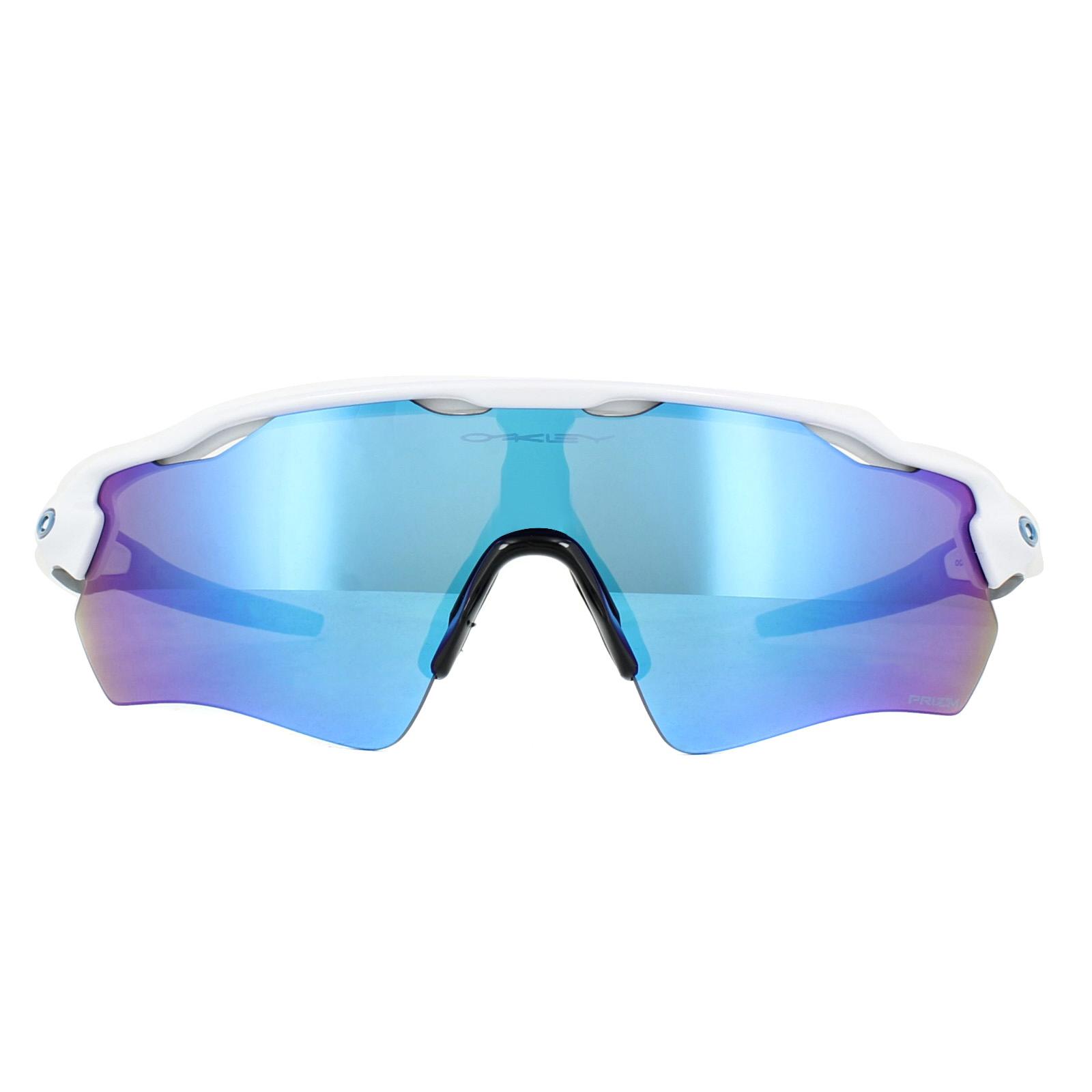 7376c0003c CENTINELA Oakley gafas de sol Radar EV camino OO9208-73 pulido zafiro Prizm  blanco