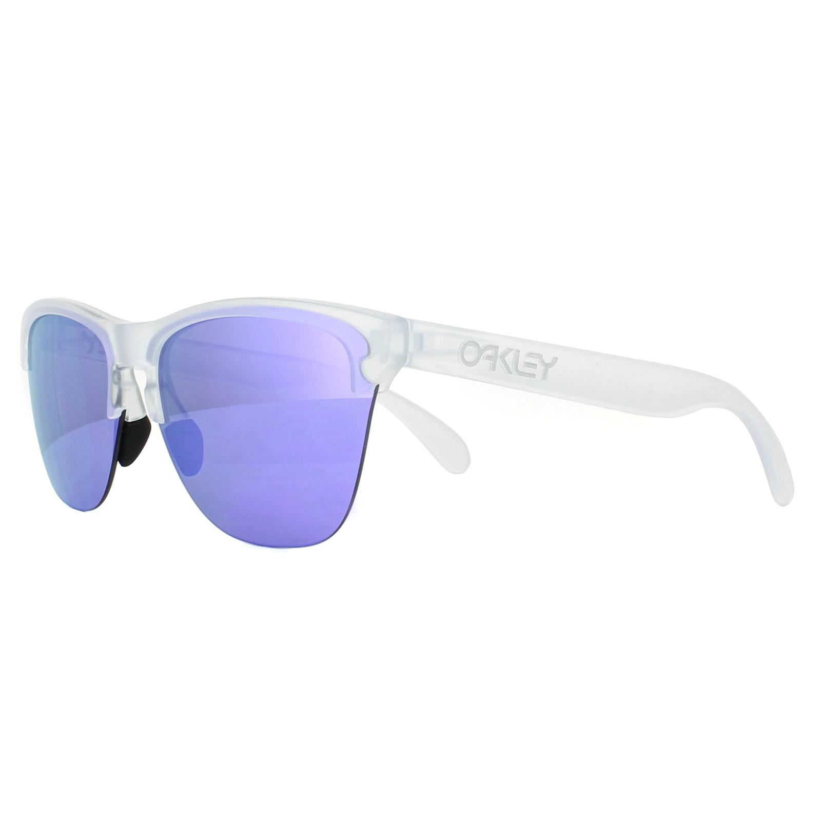 85c20b0cef Sentinel Oakley Sunglasses Frogskins Lite OO9374-03 Matt Clear Violet  Iridium