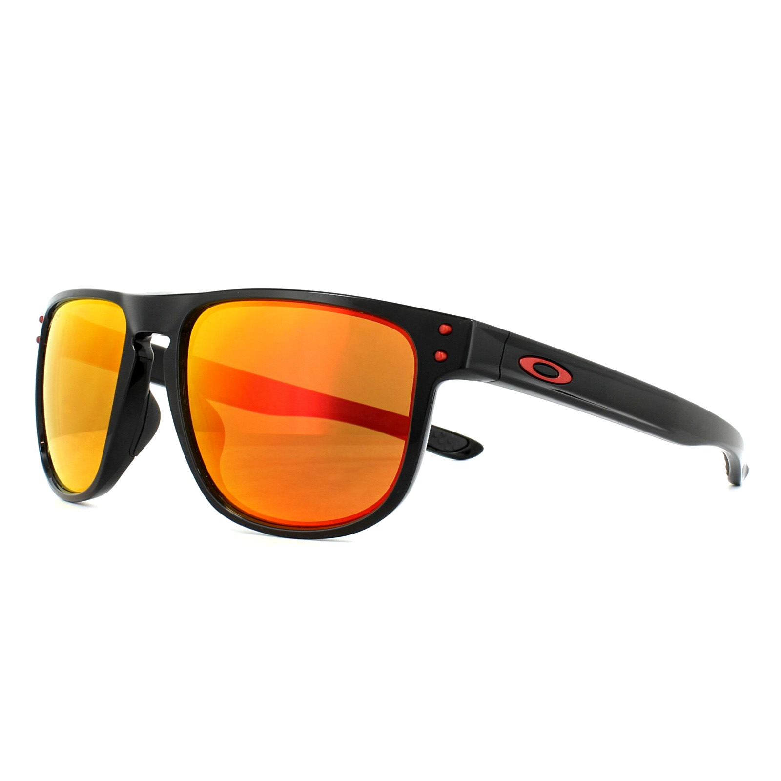 61dc05a134 Sentinel Oakley Sunglasses Holbrook R OO9377-07 Polished Black Prizm Ruby  Polarized