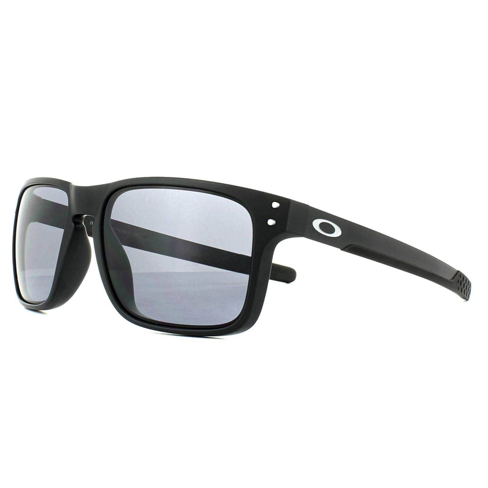 741552151 Sentinel Oakley Sunglasses Holbrook Mix OO9384-01 Matt Black Grey