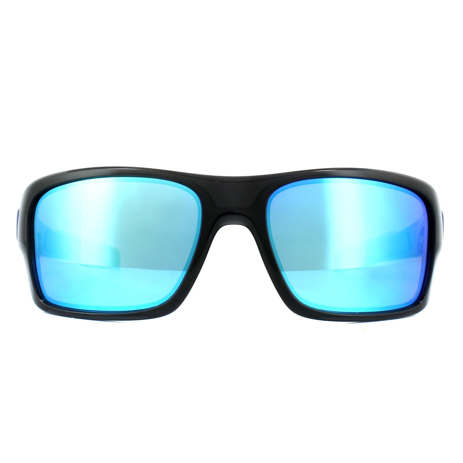8566616ab2 Details about Oakley Sunglasses Turbine XS Youth Fit OJ9003-03 Black Ink  Sapphire Iridium
