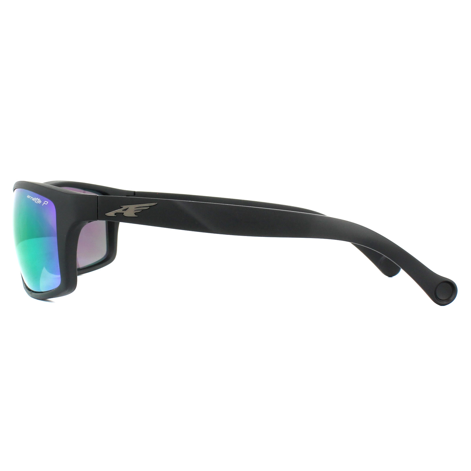 04a4970416 Sentinel Arnette Sunglasses 4207 Boiler 01 1L Matt Black Grey Mirror Green  Polarized