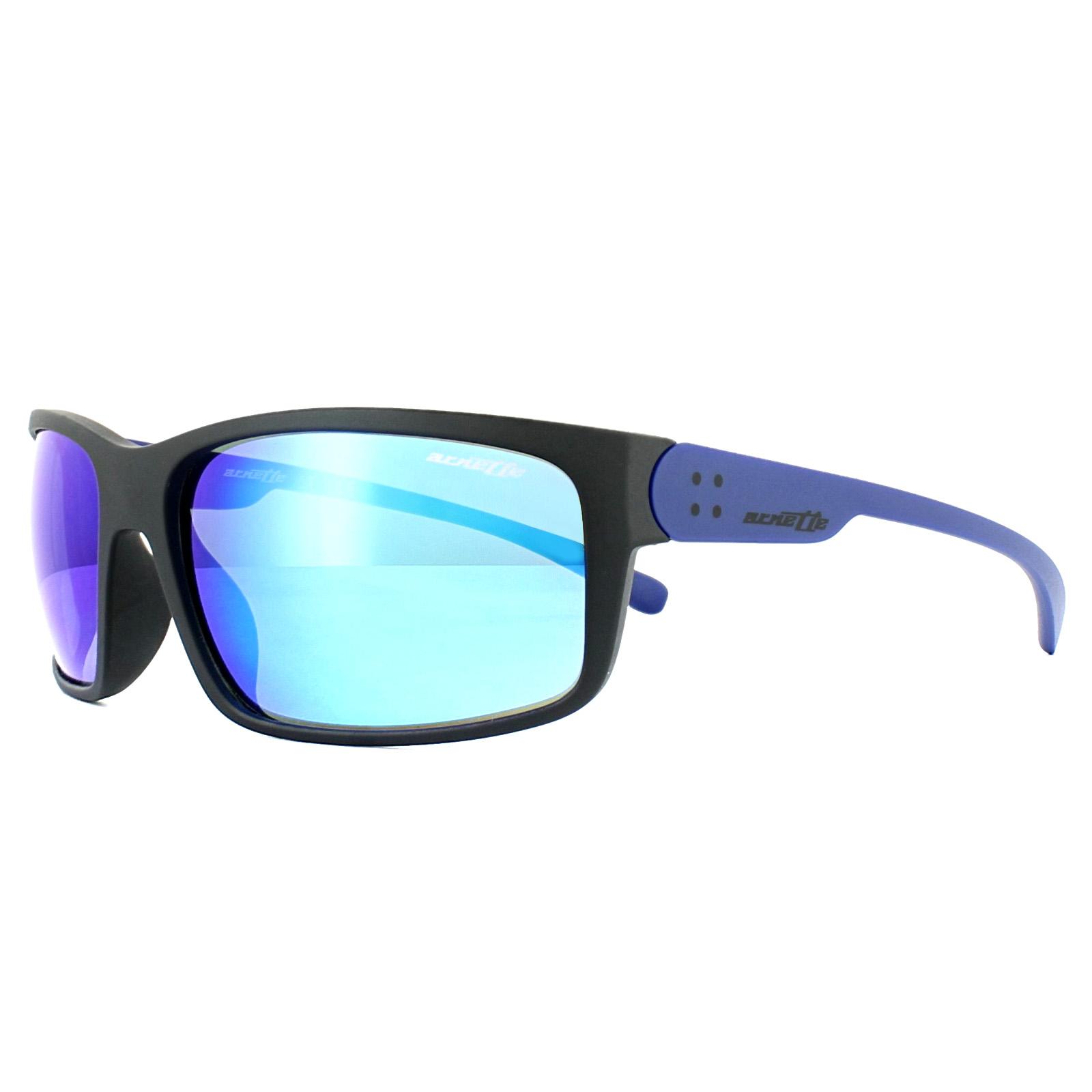 51cfd479ac3 Sentinel Arnette Sunglasses Fastball 2.0 4242 251125 Matt Black Blue  Mirror. Sentinel Thumbnail 2