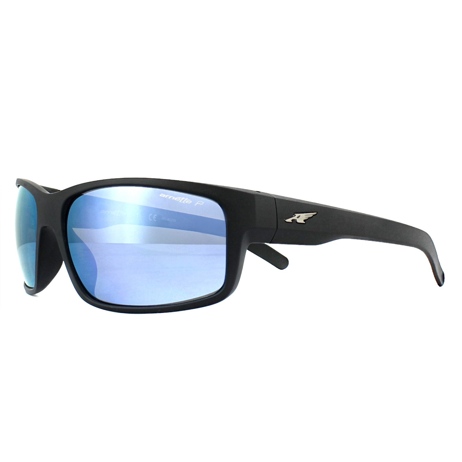 07ec9f4481 Sentinel Arnette Sunglasses Fastball 4202 01 22 Matt Black Grey Mirror Blue  Polarized