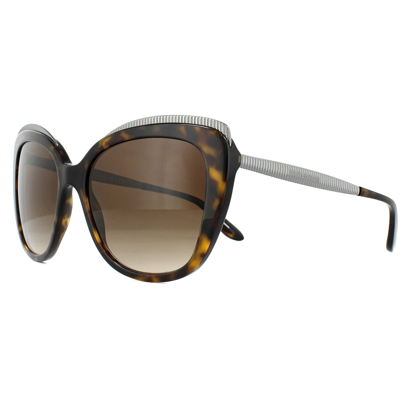 Sentinel Dolce   Gabbana Sunglasses DG4332 502 13 Havana Brown Gradient c03a245435