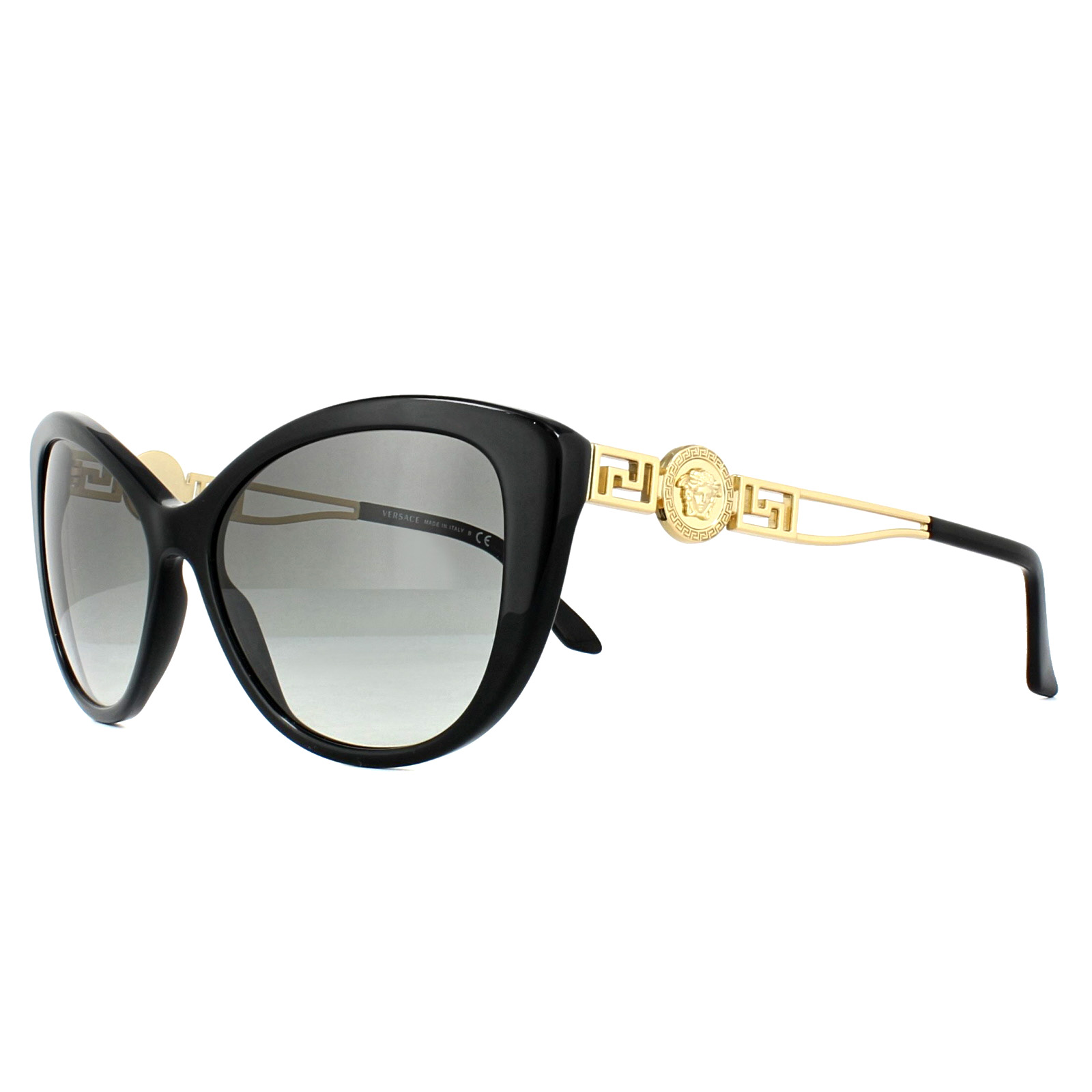 68b6519e138d Sentinel Versace Sunglasses VE4295 GB1 11 Black Grey Gradient