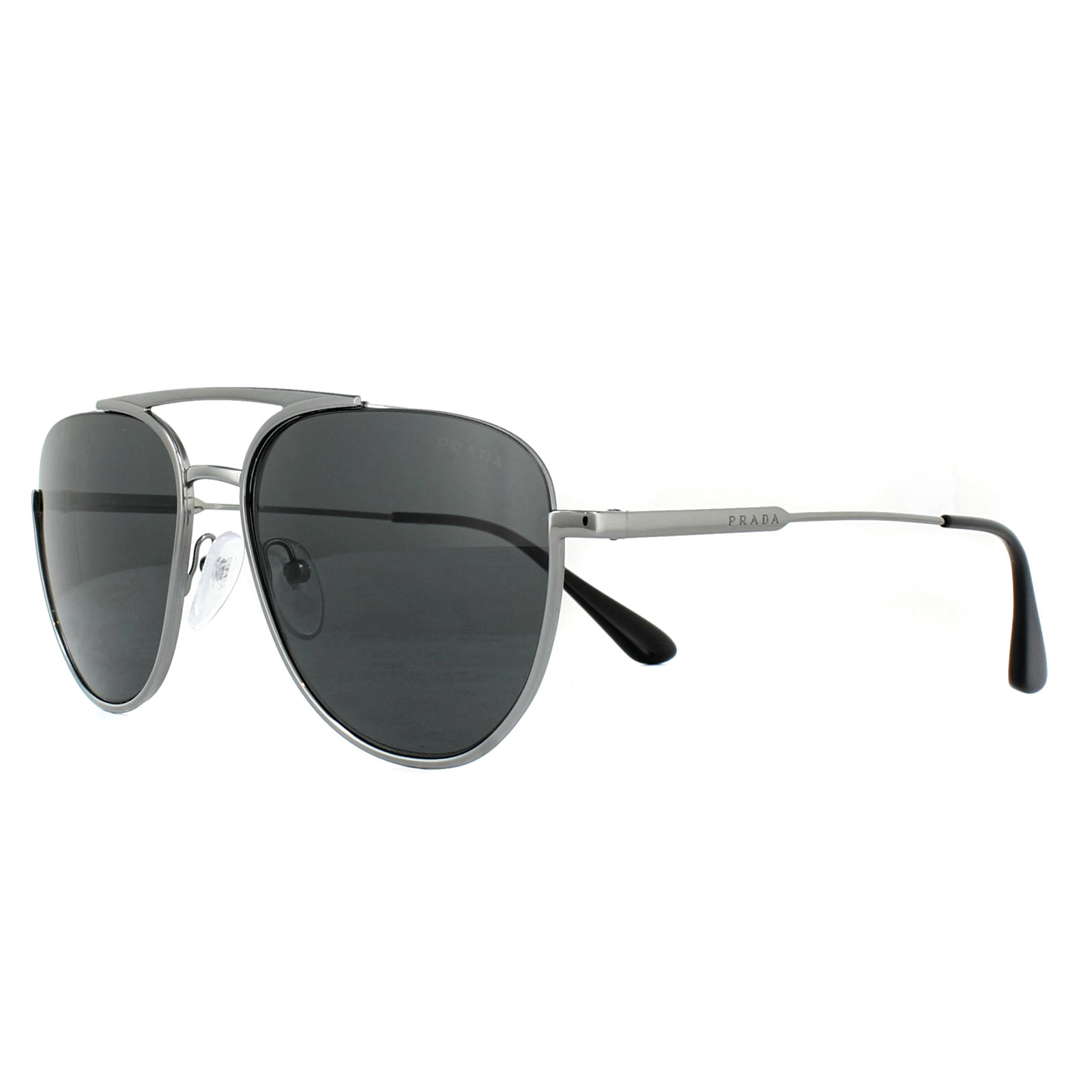 6a18c213d2c Prada Sunglasses PR50US 5AV5S0 Gunmetal Grey 8053672831726