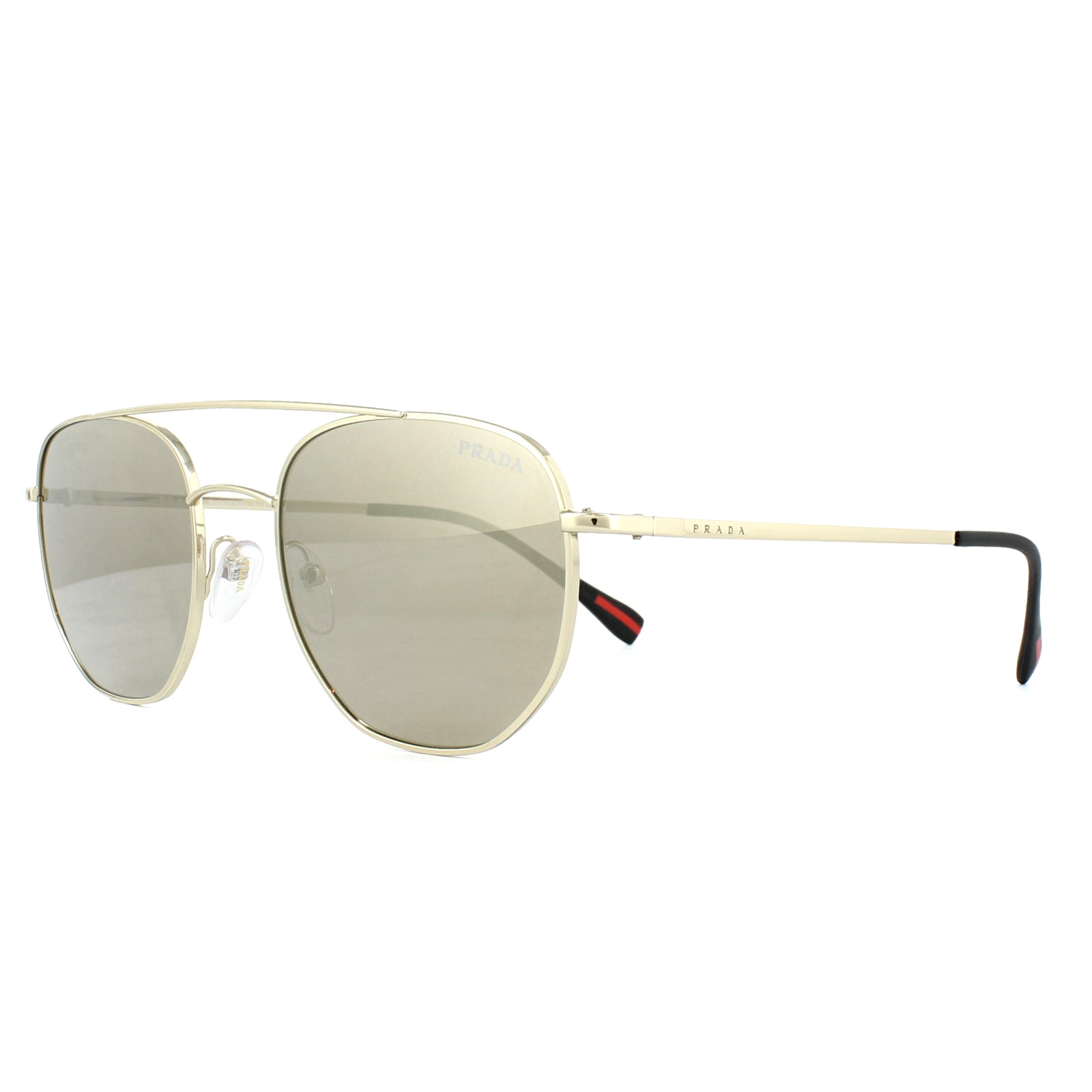 ca94830c84e8 Sentinel Prada Sport Sunglasses PS56SS ZVN1C0 Pale Gold Light Brown Mirror  Gold
