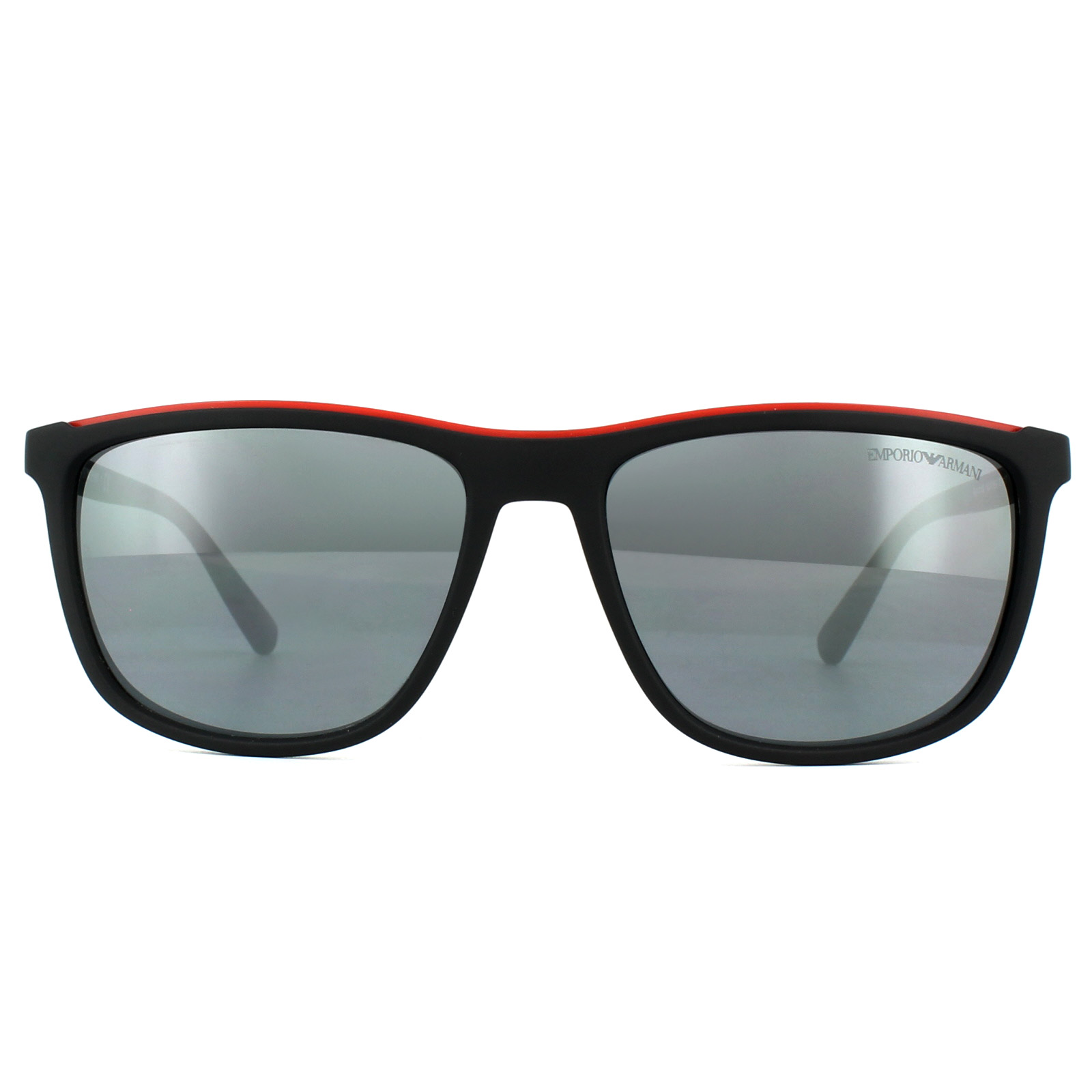 Sentinel Emporio Armani Sunglasses EA4109 50426G Matt Black Light Grey  Mirror Black b8dc0a79fe