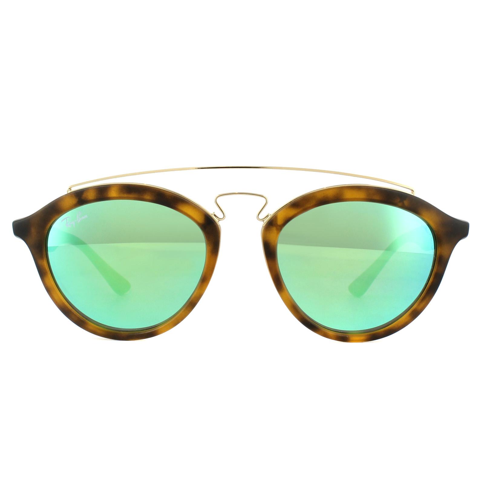 Shop Ray Ban RB 4257 60923R Gatsby II Matte Havana Plastic