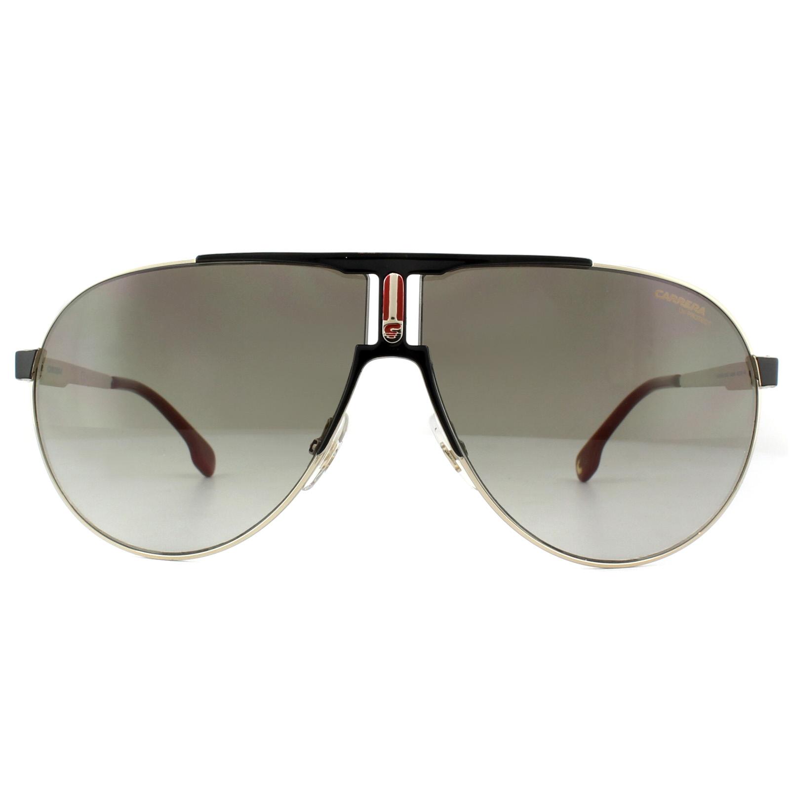 a65cc013679f61 Sentinel Carrera Sunglasses 1005 S 2M2 HA Gold Black Brown Gradient