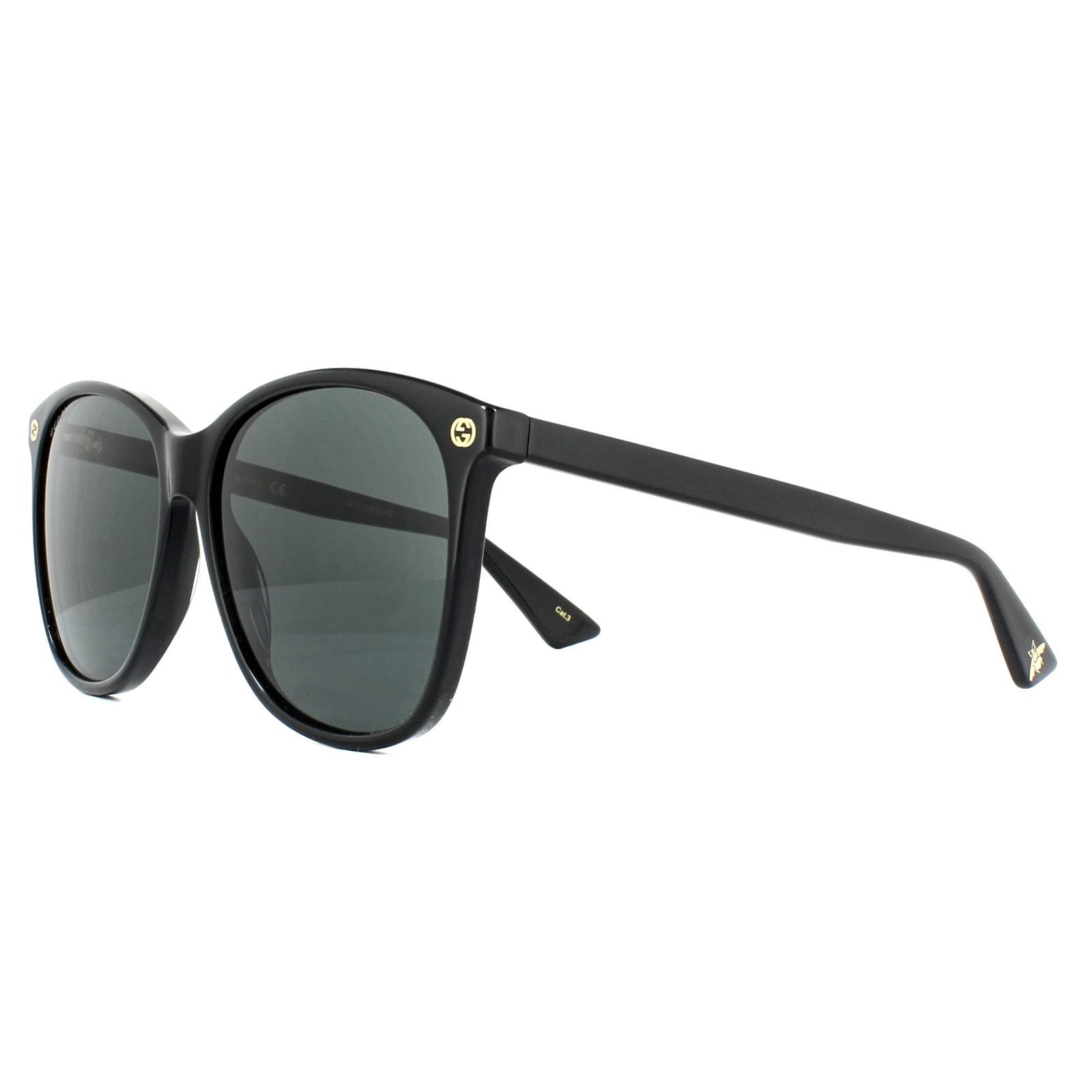 171fffc206 Sentinel Gucci Sunglasses GG0024S 001 Black Grey