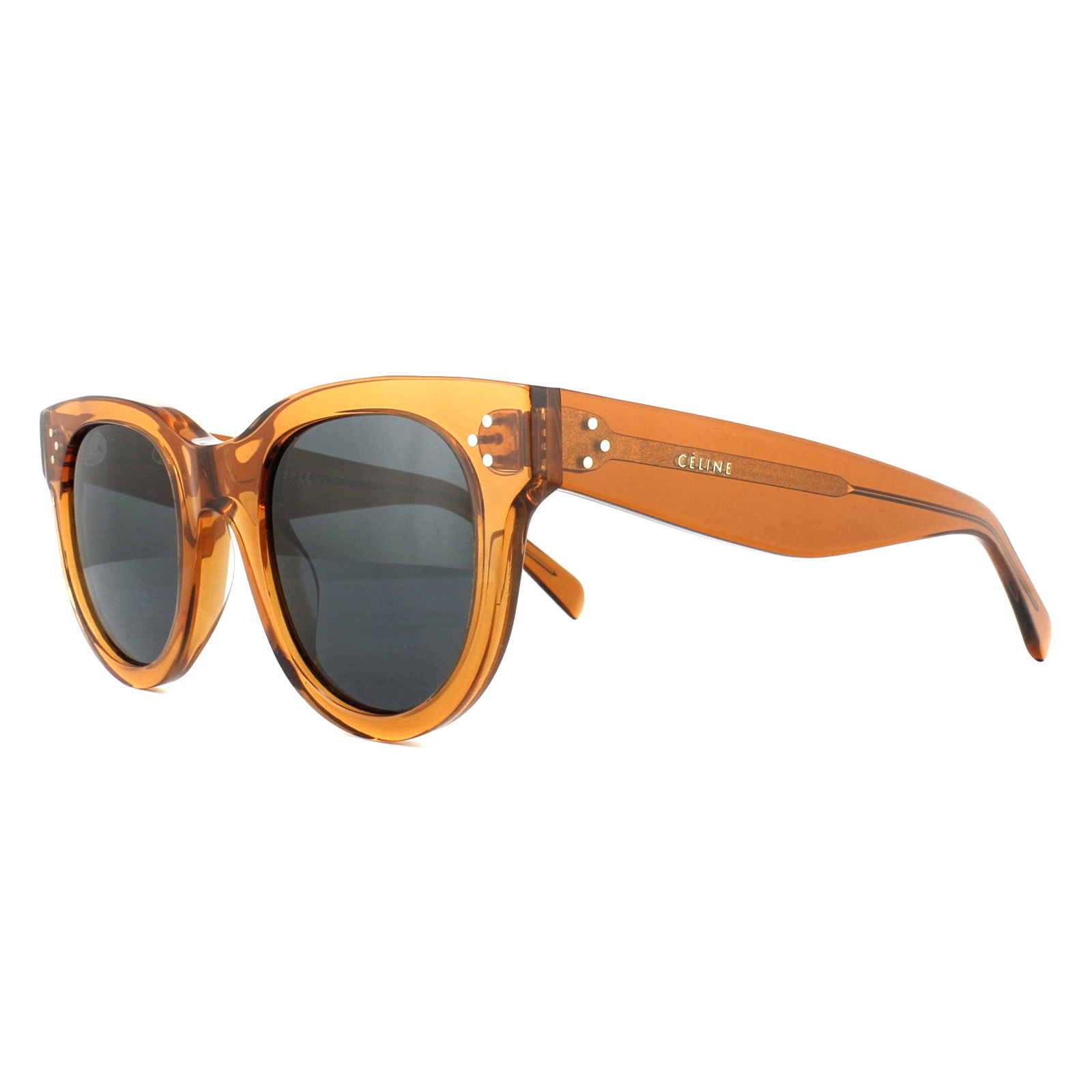 05d0dd0ed4 Sentinel Celine Sunglasses 41053S Baby Audrey F33 IR Transparent Orange Grey