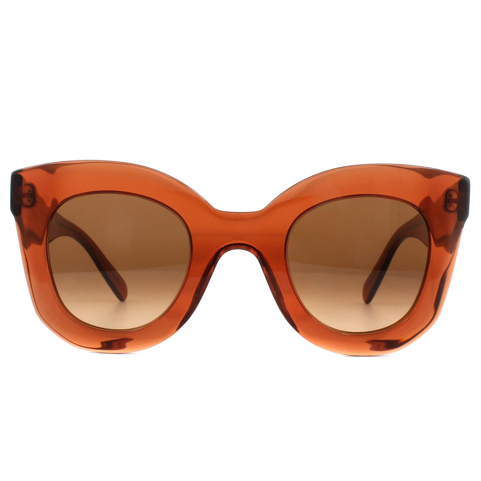 b555cdf8a0fc Sentinel Celine Sunglasses 41393S Baby Marta EFB PP Dark Orange Brown  Gradient