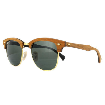 Ray-Ban Clubmaster Wood 3016M Sunglasses