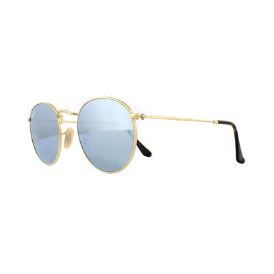 Ray-Ban Round Flat Lenses 3447N Sunglasses