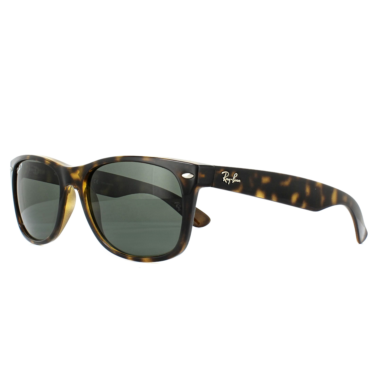 ba3b660084 Sentinel Ray-Ban Sunglasses New Wayfarer 2132 902 58 Tortoise Green  Polarized 58mm Large