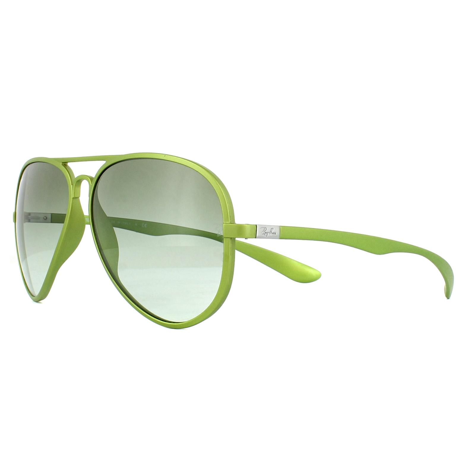 f705ae58b5e ... switzerland sentinel ray ban sunglasses 4180 60868e green green  gradient fec1f 1ecb8