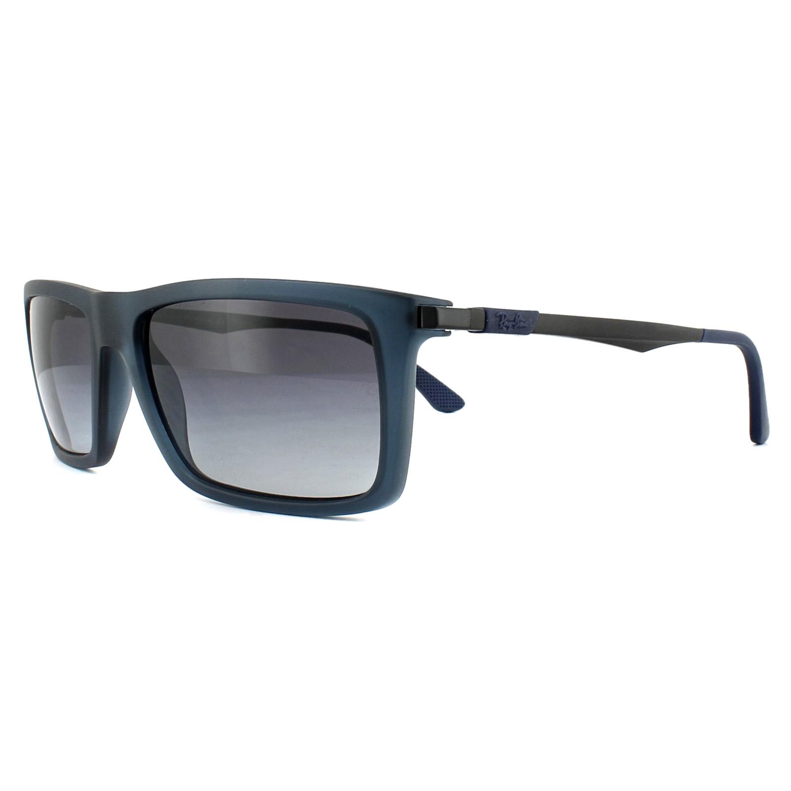 57b2f5f774 Sentinel Ray-Ban Sunglasses 4214 62978G Blue Gunmetal Grey Gradient