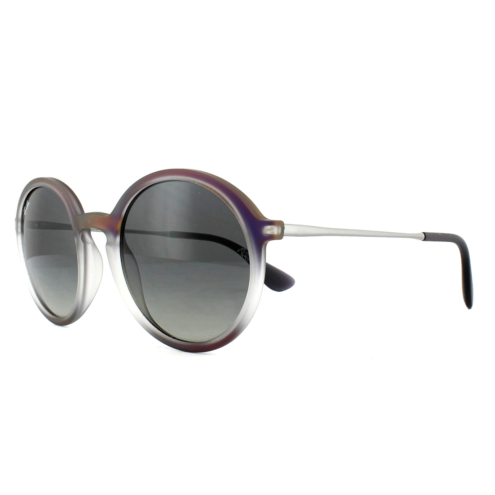 efafdeb85e Sentinel Ray-Ban Sunglasses 4222 622311 Violet Shot on Black Grey Gradient  50mm