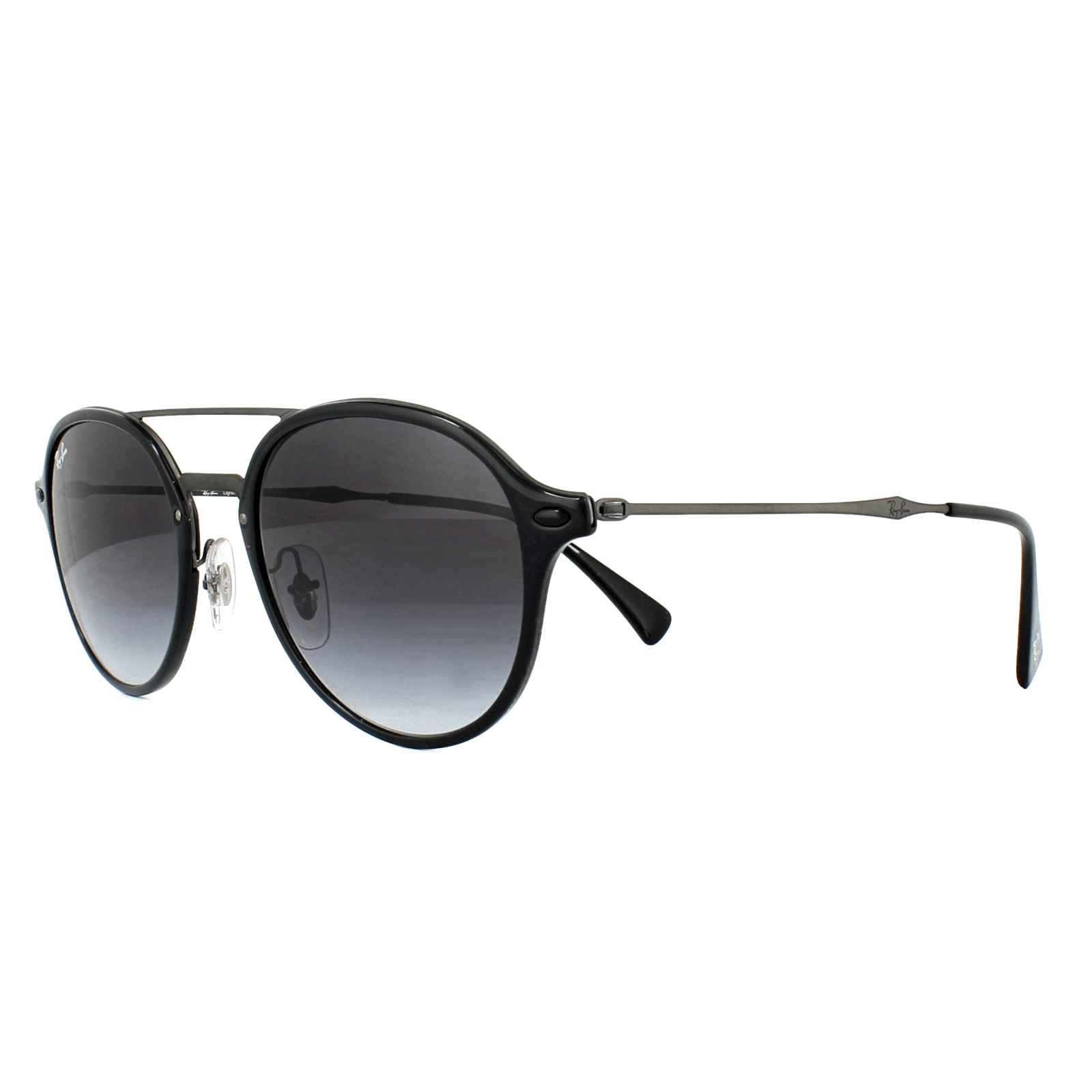 71ae5225225 Sentinel Ray-Ban Sunglasses 4287 601 8G Black Gunmetal Grey Gradient
