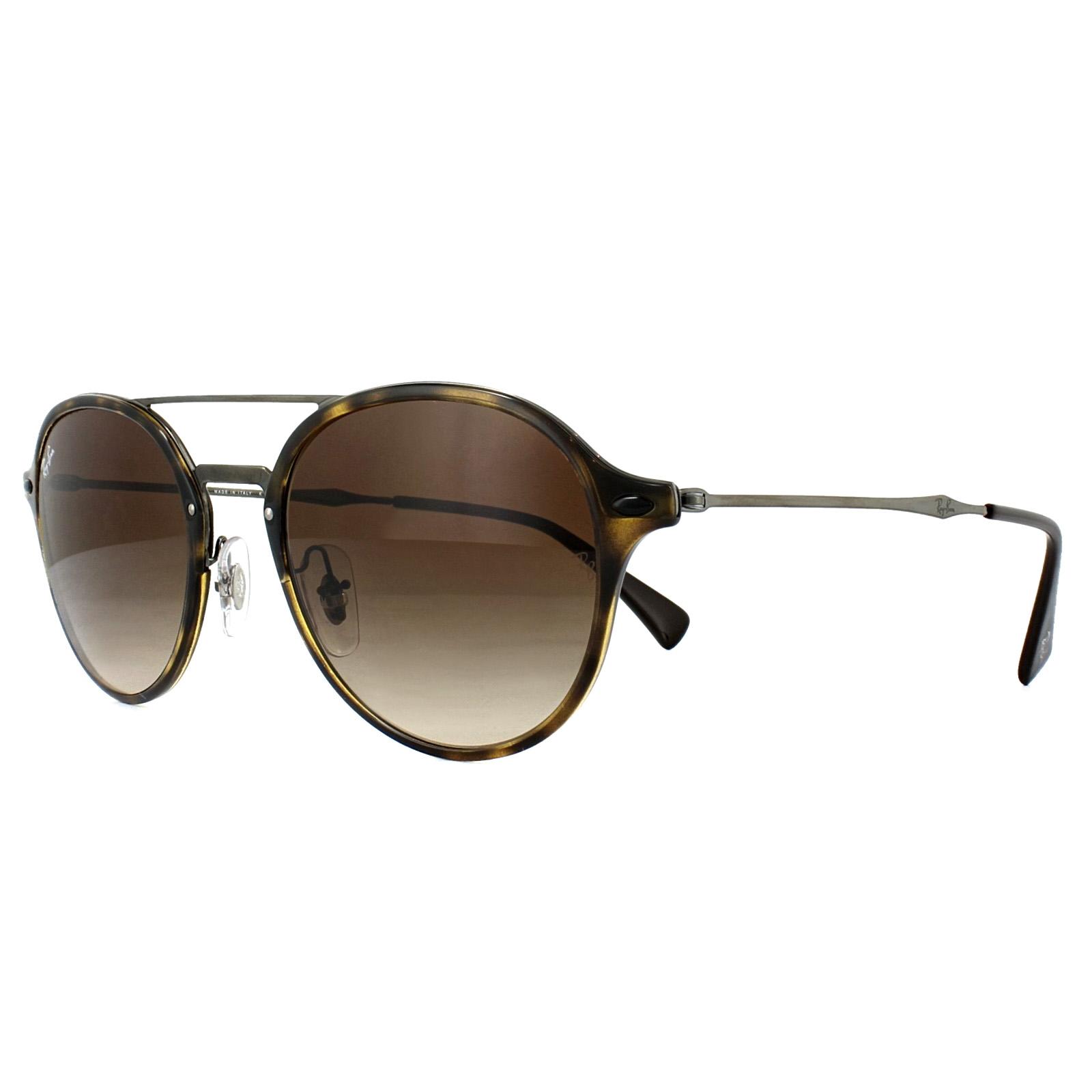 5e0c8c5e09 Sentinel Ray-Ban Sunglasses 4287 710 13 Tortoise Gunmetal Brown Gradient