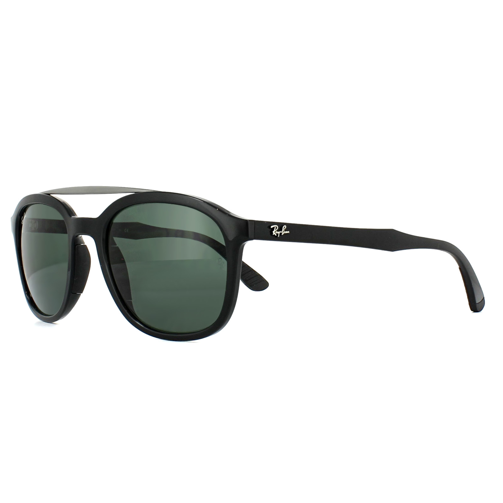 90b4530f6c1c3 Ray-Ban Sunglasses 4290 601 71 Black Green G-15 8053672840667   eBay