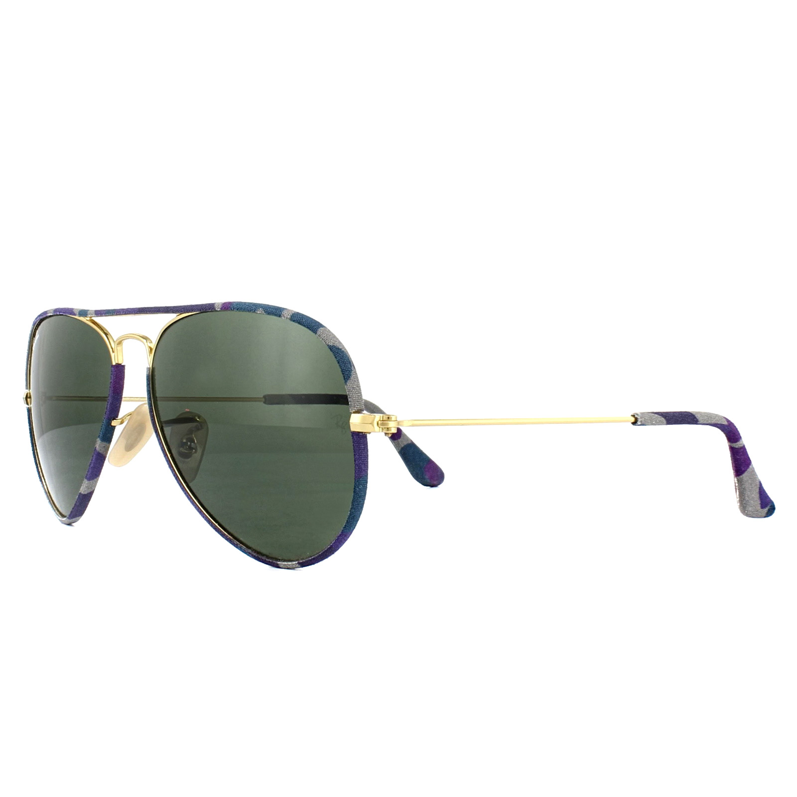 27e35d665c Sentinel Ray-Ban Sunglasses Aviator Full Colour 3025JM 172 Multi-Coloured  Gold Green 55mm