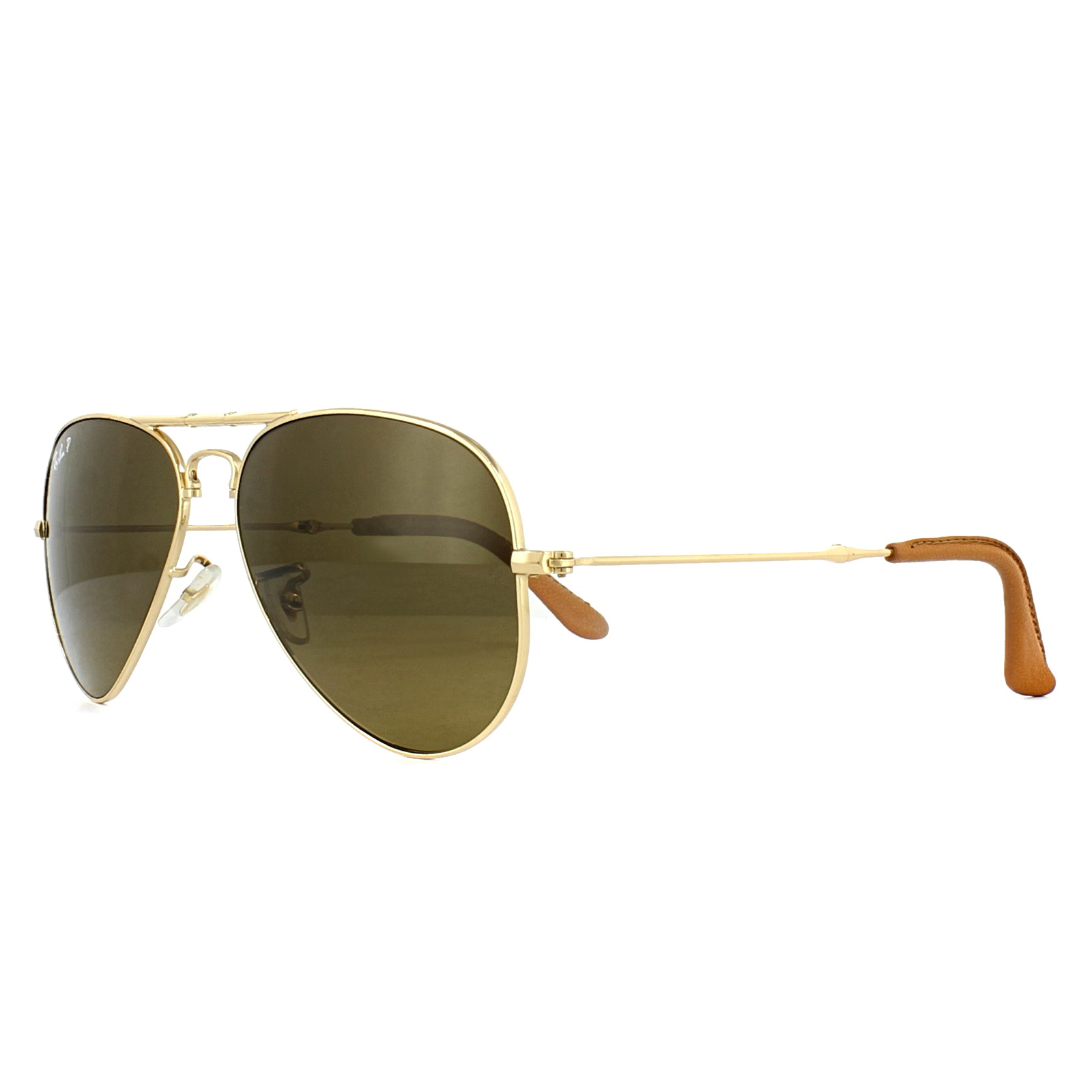 4f7b1fca22ec4 Sentinel Ray-Ban Sunglasses 3479KQ 001 M7 Gold Brown Gradient Polarized 55mm