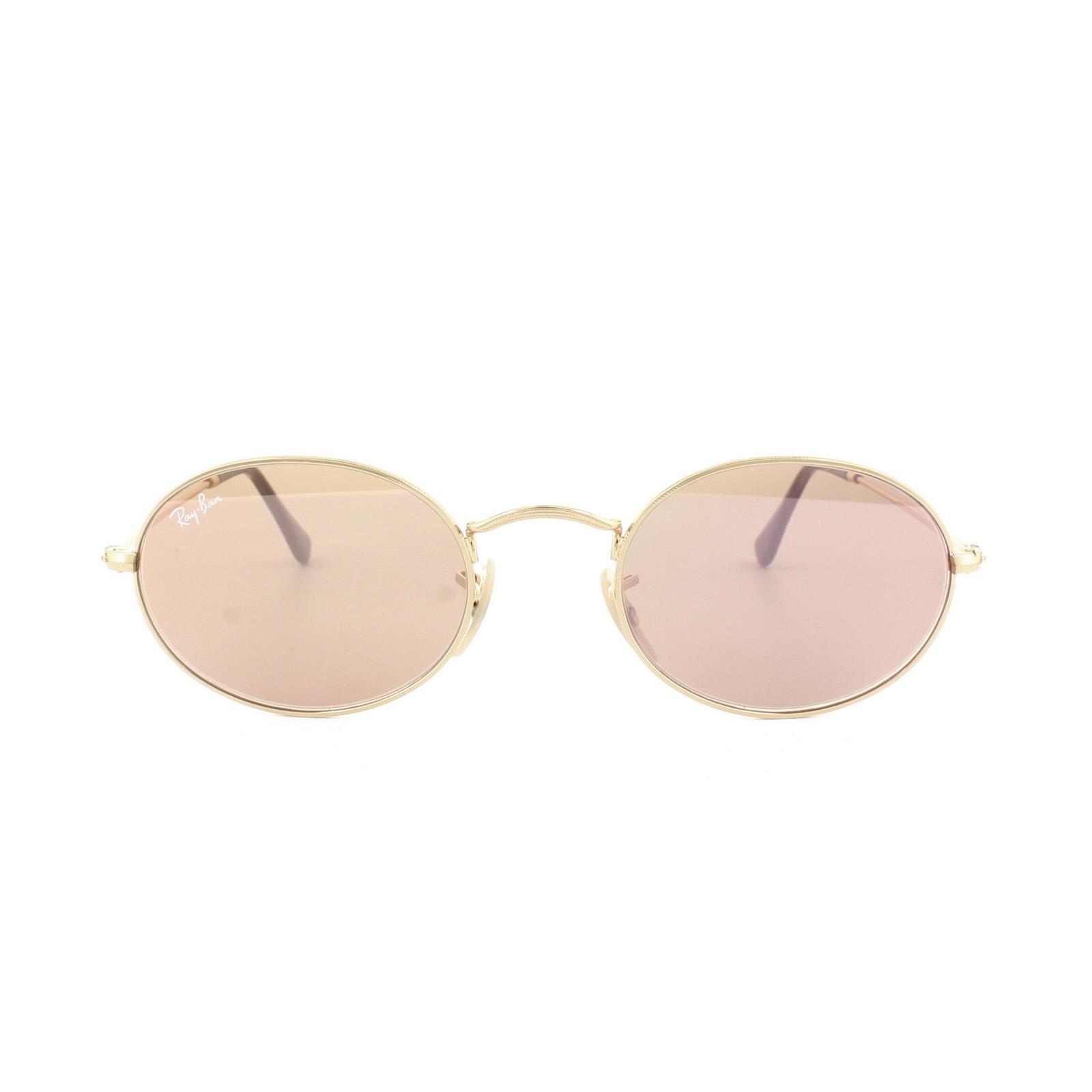 bb40fa7572 CENTINELA Ray-Ban gafas de sol ovaladas 3547N 001 Z2 espejo cobre oro 48mm