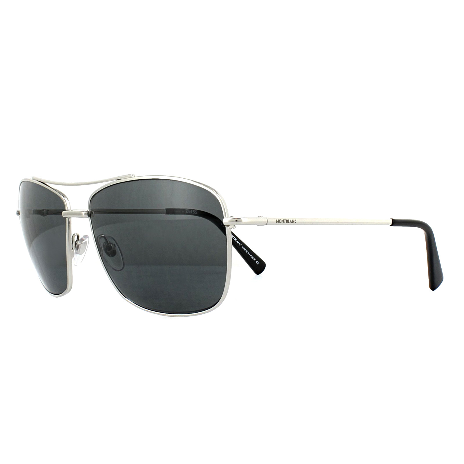 Mont Blanc Sunglasses MB548S 16A Silver Grey 664689707027   eBay 1c5a9174dc