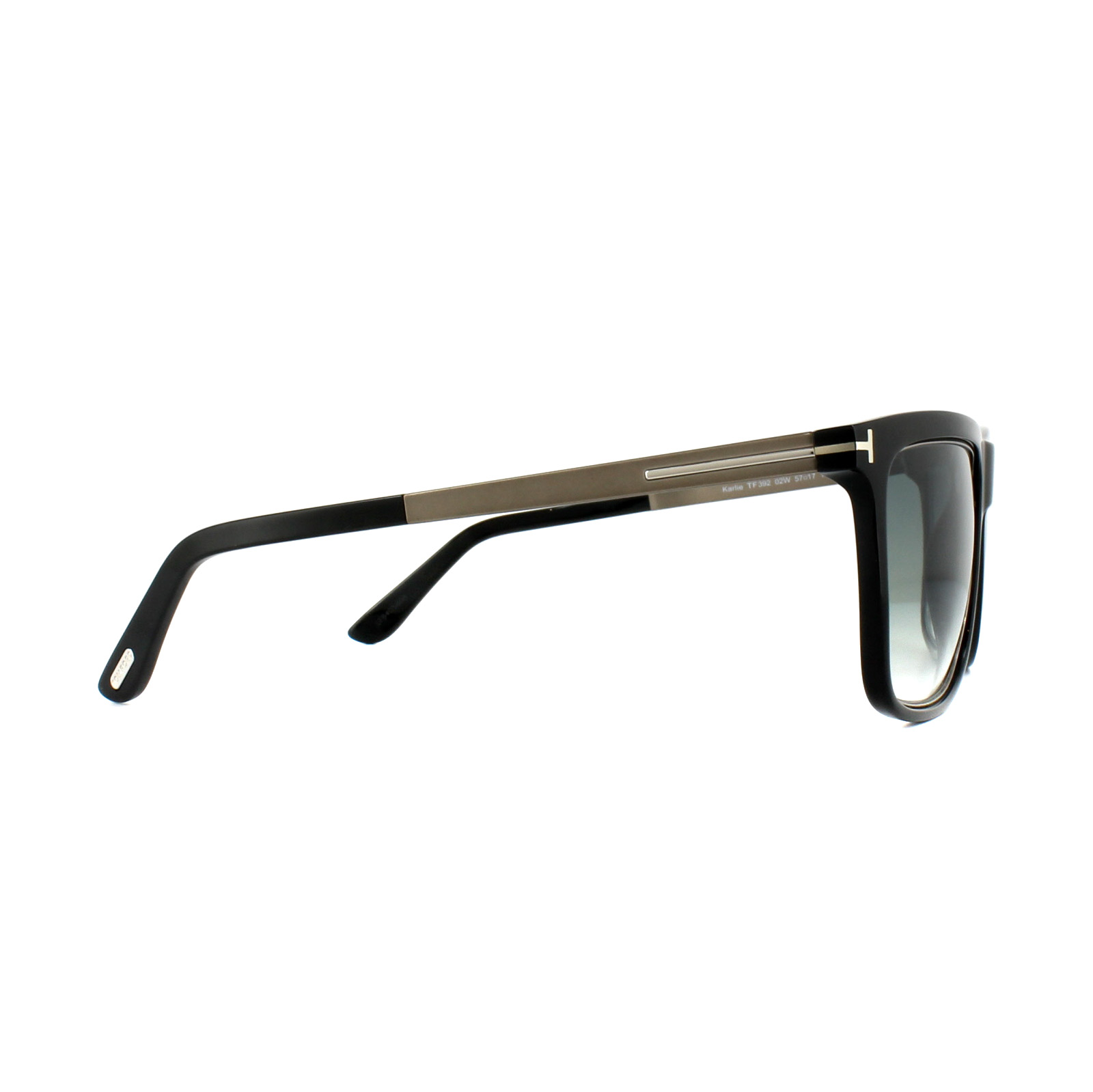 102ff9d23d Tom Ford Sunglasses 0392 Karlie 02W Black Blue Gradient 664689655137 ...