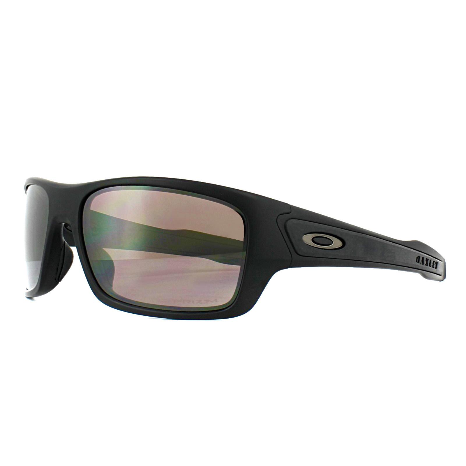 1bd2faeba6318 Sentinel Oakley Sunglasses Turbine XS OJ9003-06 Matt Black Prizm Daily  Polarized