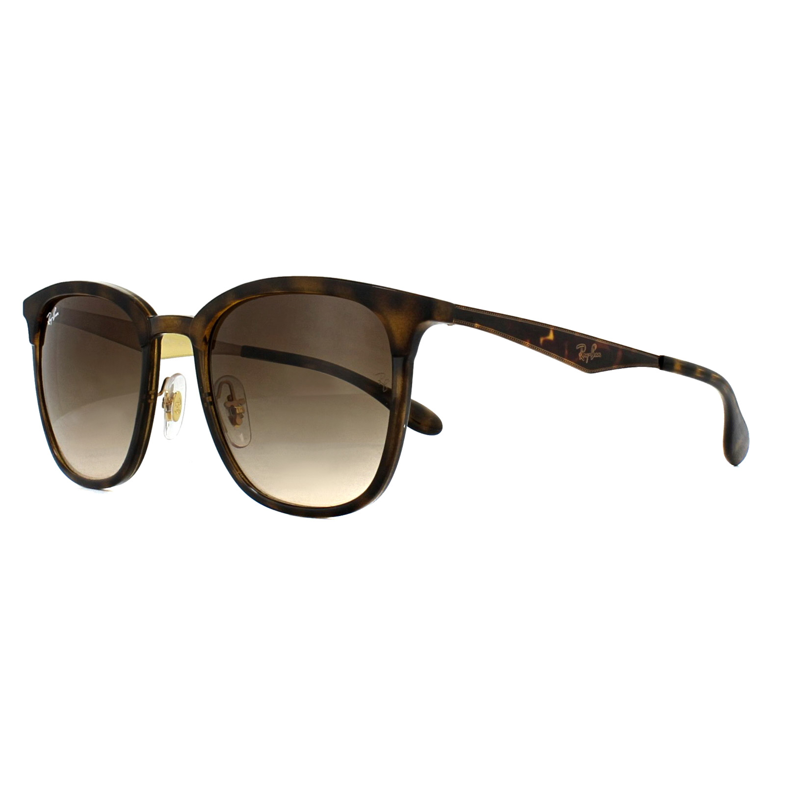 5e093596b Sentinel Ray-Ban Sunglasses RB4278 628313 Tortoise Gold Brown Gradient