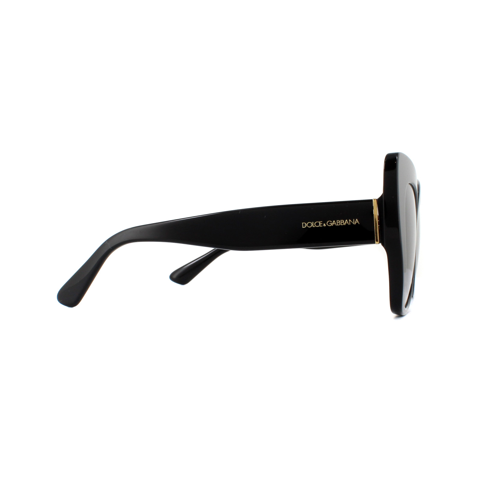 Dolce   Gabbana Sunglasses DG4319 501 8G Black Grey Gradient   eBay 61b002fbae