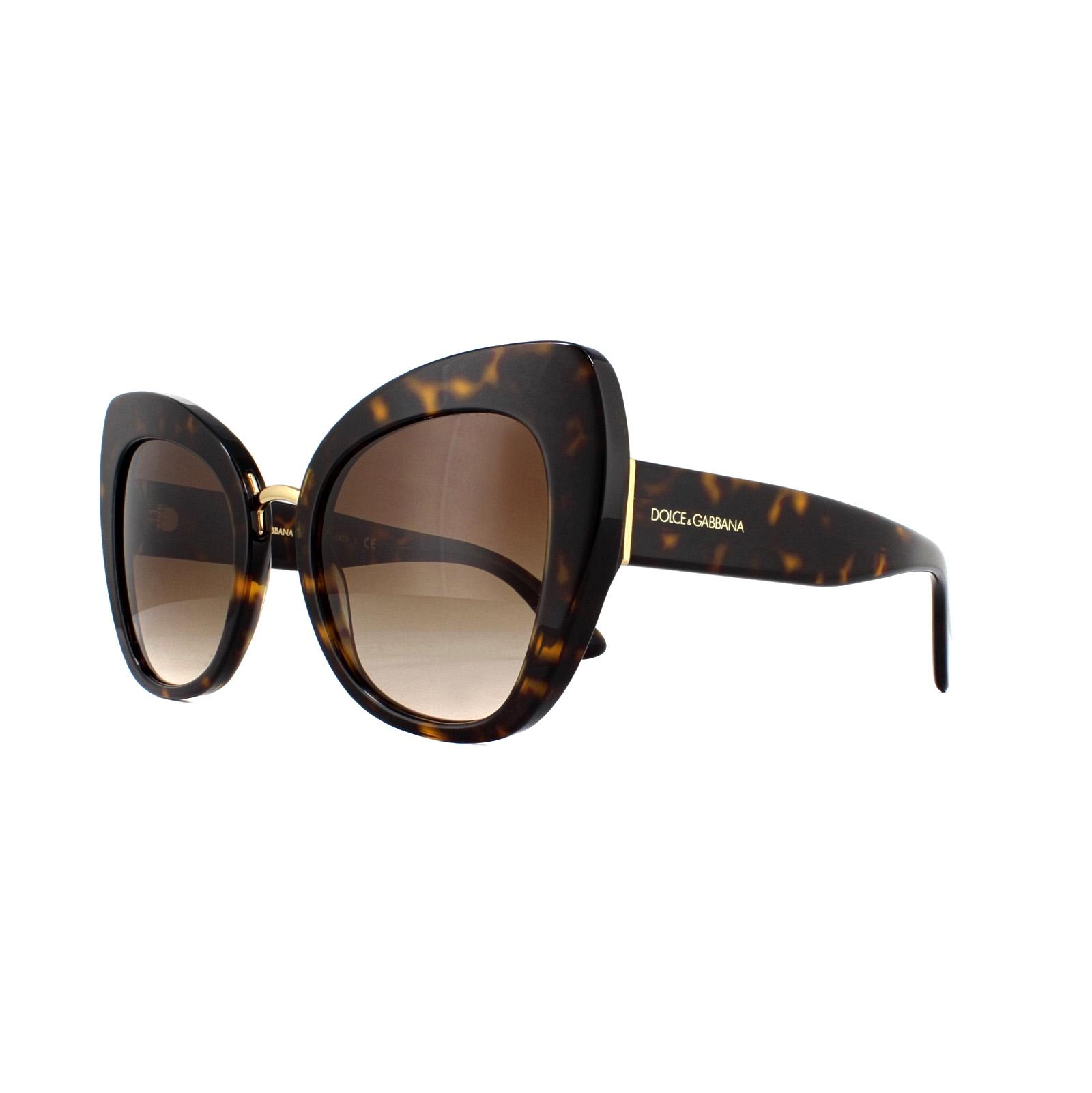60cdc45610e6 Sentinel Dolce   Gabbana Sunglasses DG4319 502 13 Havana Brown Gradient