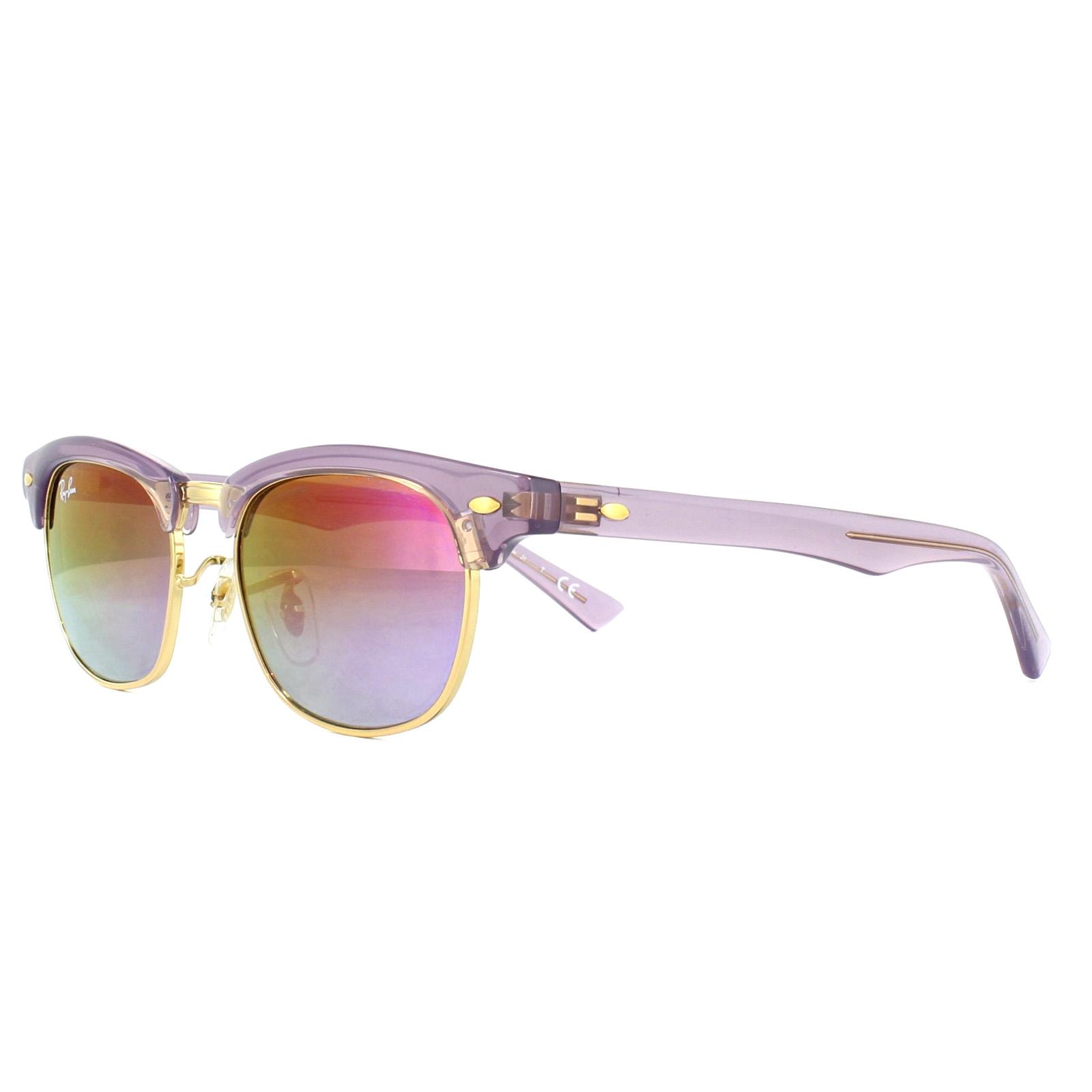 6d0cbdd401a Sentinel Ray-Ban Junior Sunglasses 9050S 7036A9 Violet Violet Gradient  Mirror 45mm