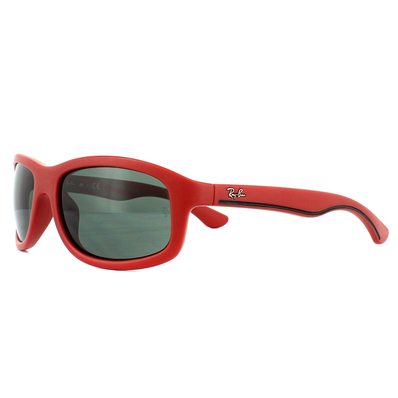 f016267011 Sentinel Ray-Ban Junior Sunglasses 9058S 700271 Red Grey. Sentinel  Thumbnail 2