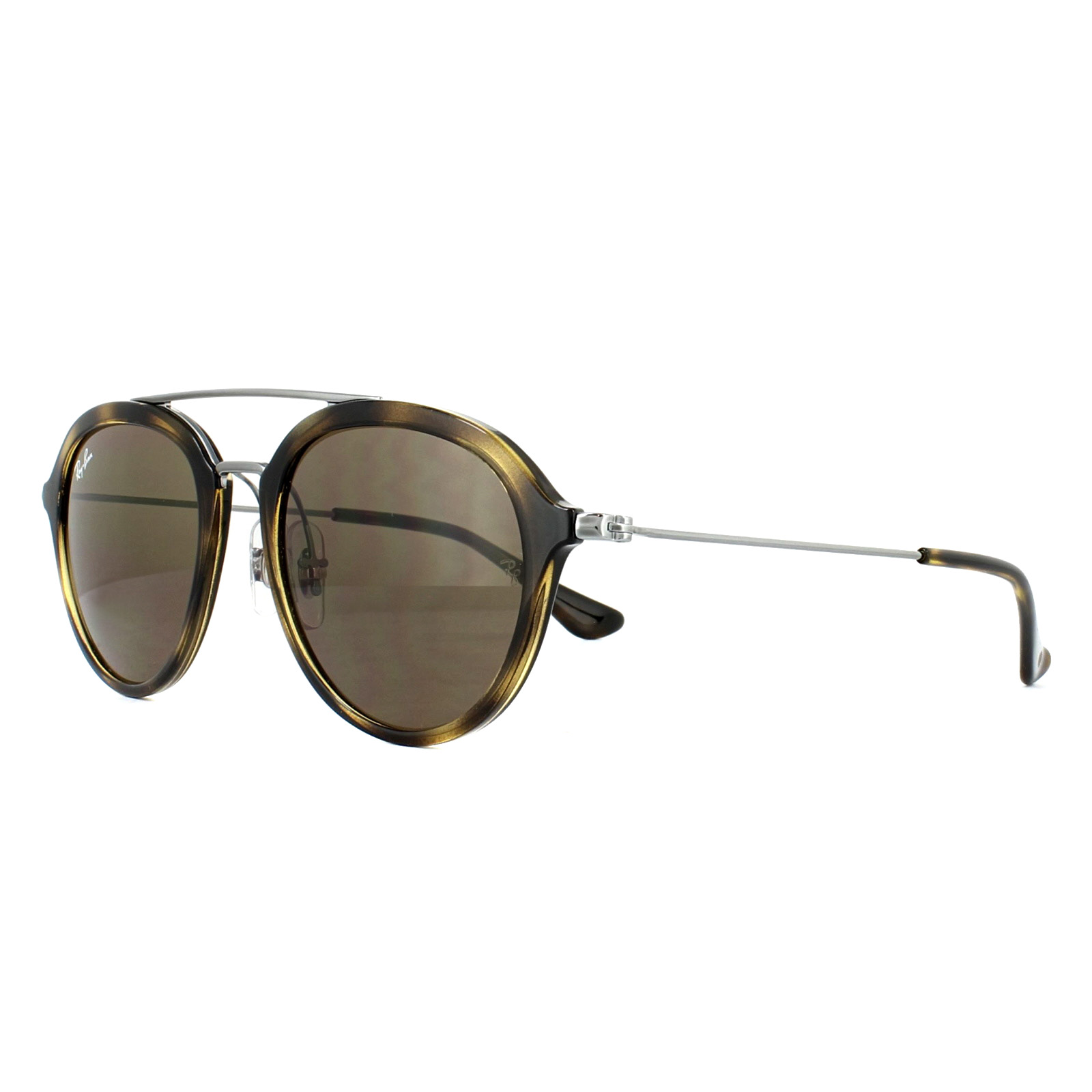 af198998858 Sentinel Ray-Ban Junior Sunglasses 9065S 152 73 Tortoise Gunmetal Brown B-15