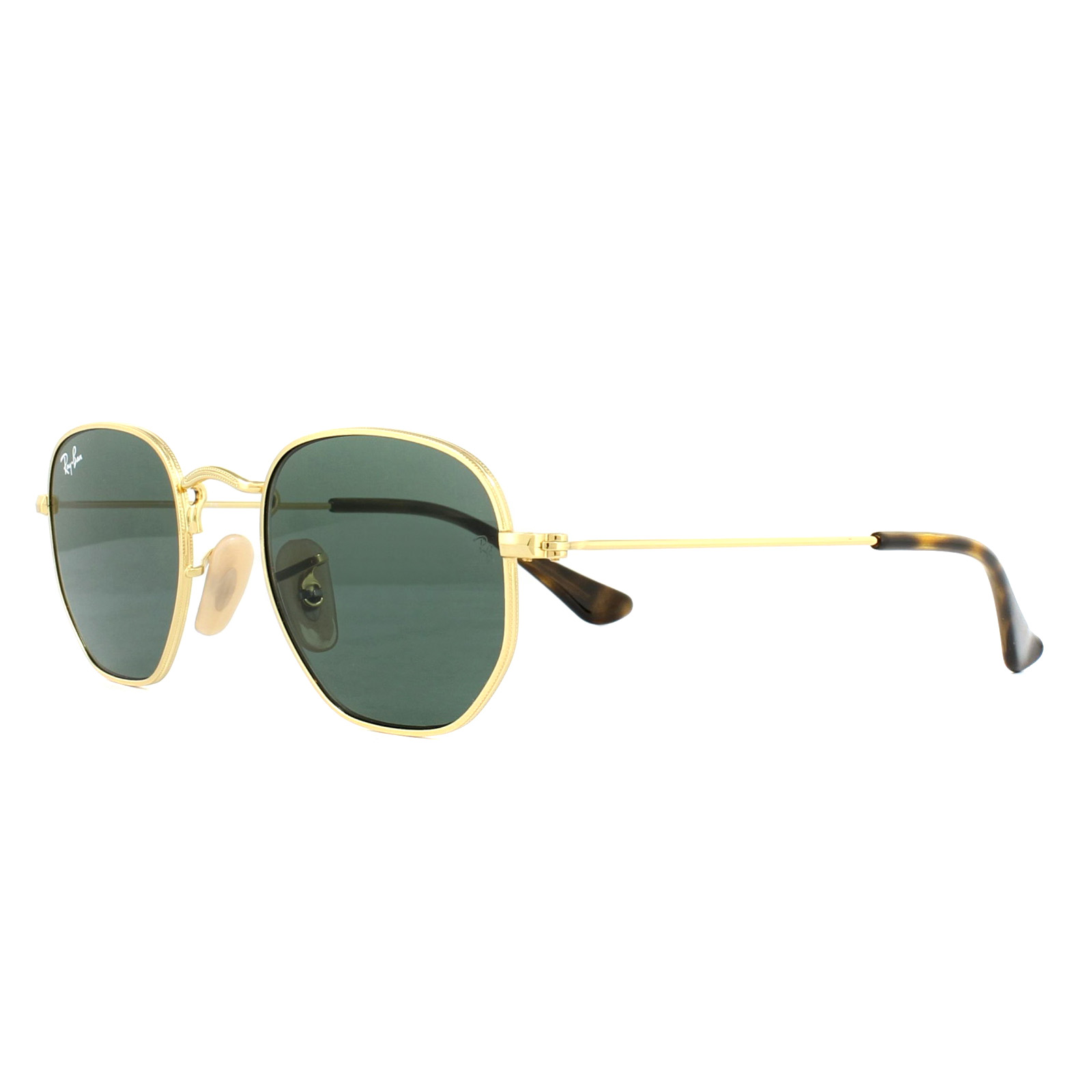 504448dfbd708 Sentinel Ray-Ban Junior Sunglasses 9541SN 223 71 Gold Green G-15