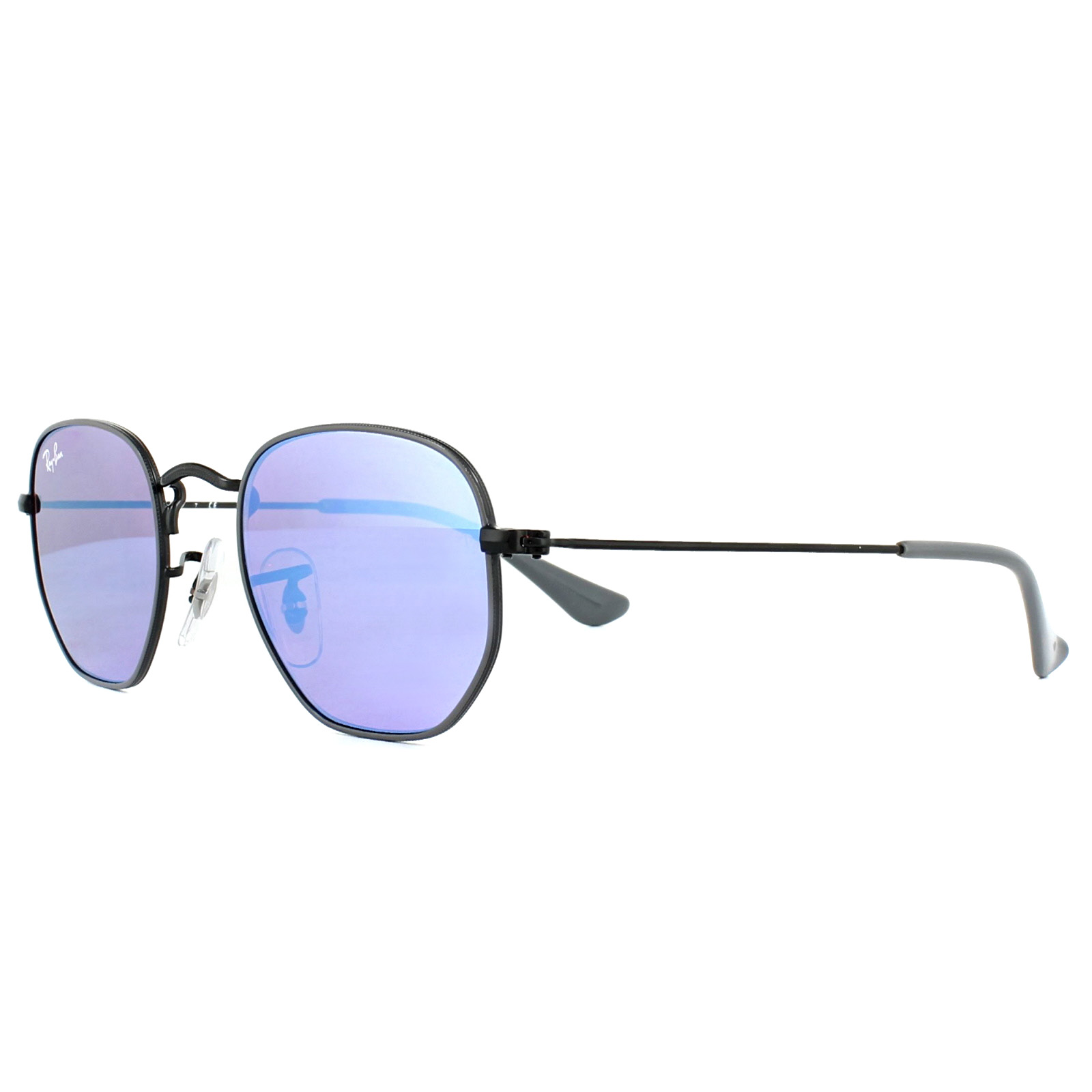 ed3098a3b12771 Sentinel Ray-Ban Junior Sunglasses 9541SN 261 7V Grey Black Violet Blue  Mirror